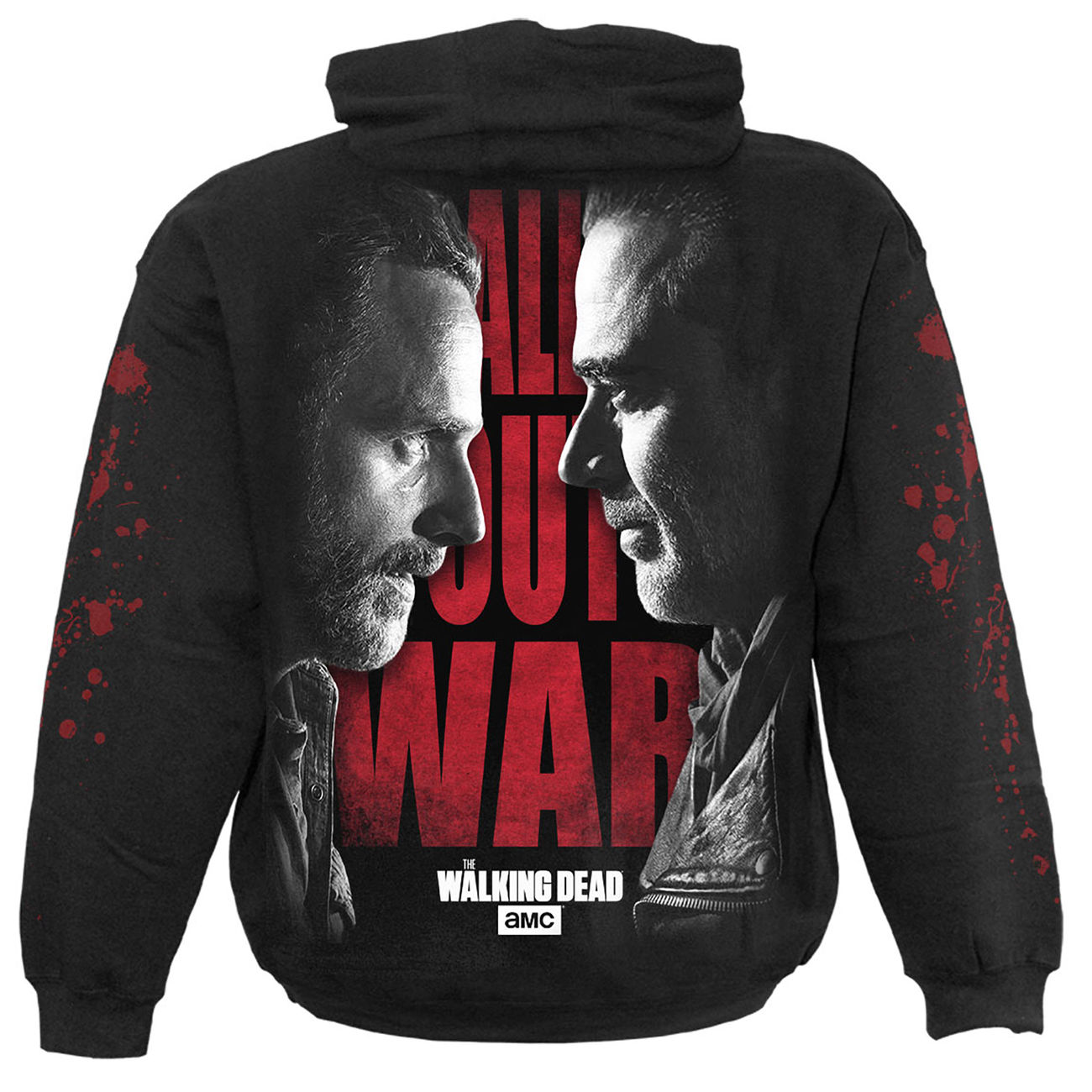 Spiral Kapuzenpullover The Walking Dead - All Out War 1