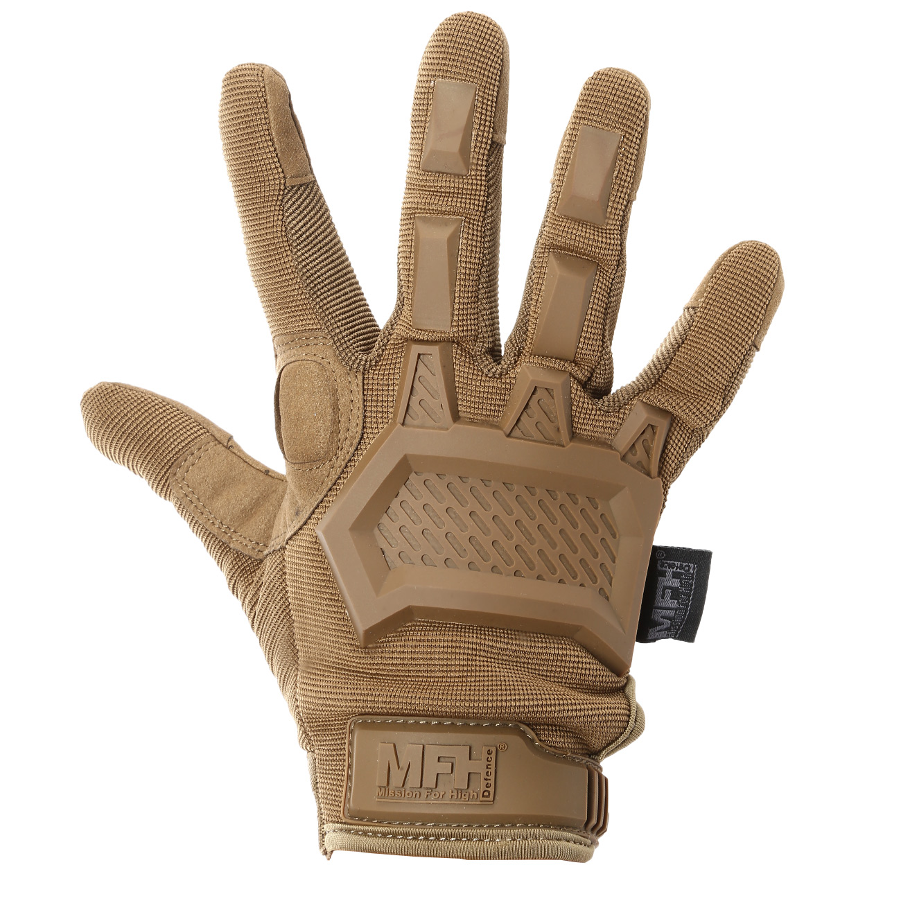 MFH Tactical Handschuhe Action coyote tan 2