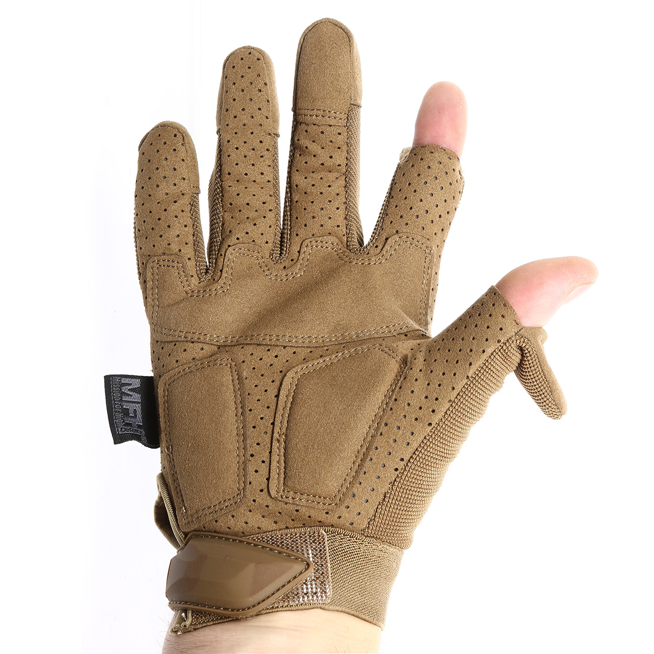 MFH Tactical Handschuhe Action coyote tan 3