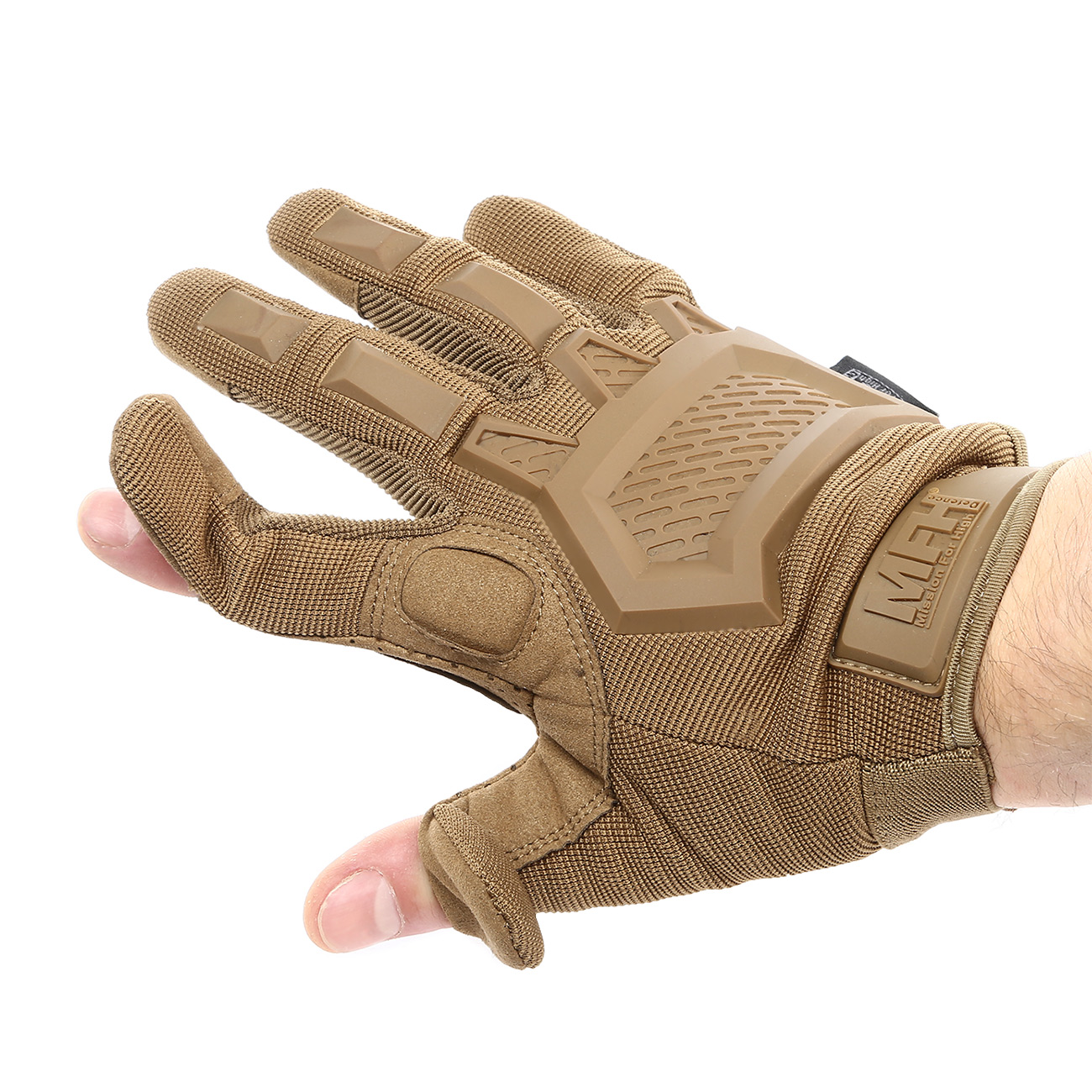 MFH Tactical Handschuhe Action coyote tan 5