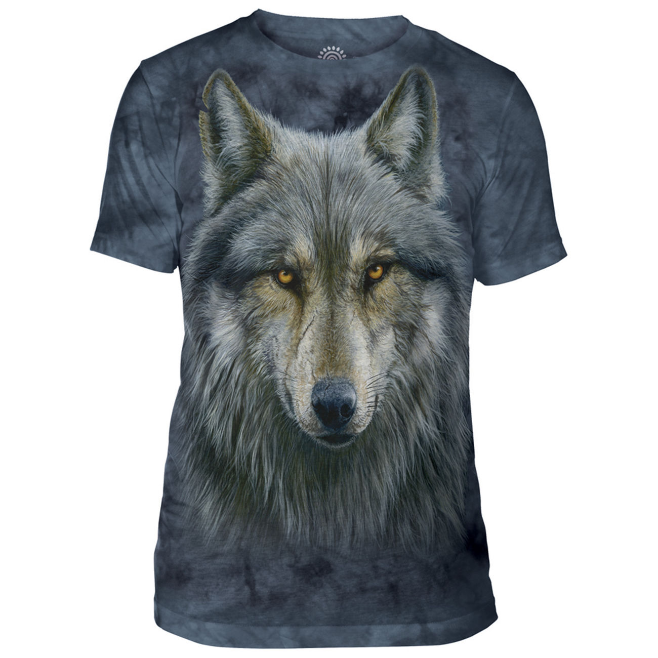The Mountain T-Shirt Warrior Wolf 0