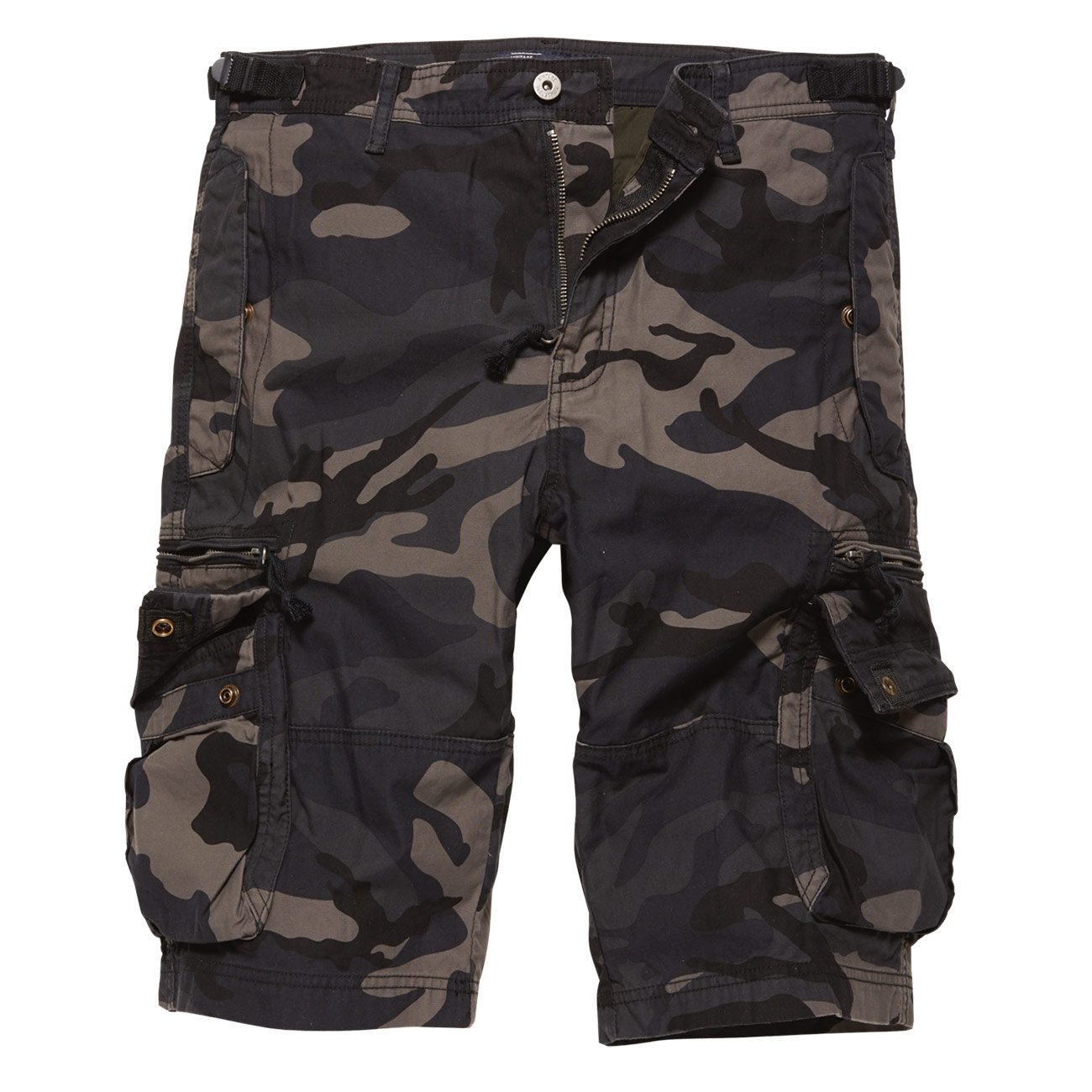 Vintage Industries Shorts Gandor darkcamo 0