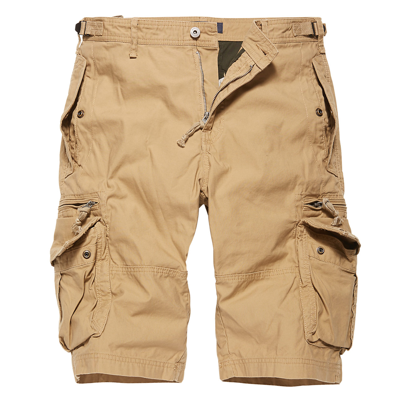 Vintage Industries Shorts Gandor safari 0