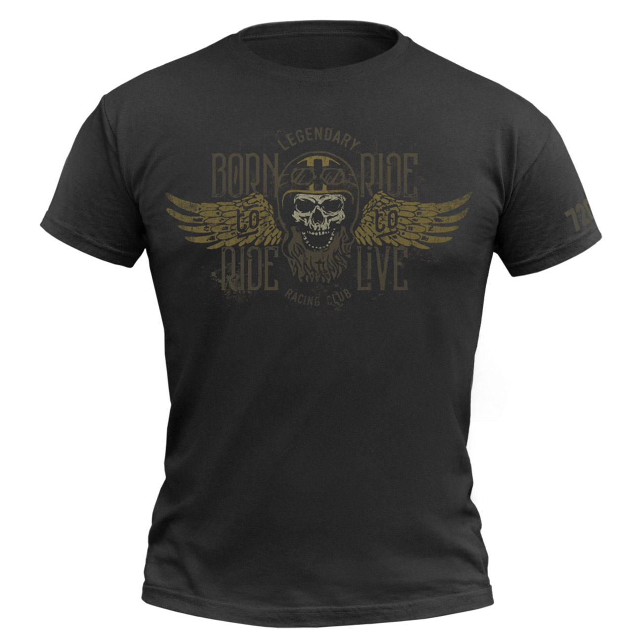 720gear T-Shirt Born to Ride 0
