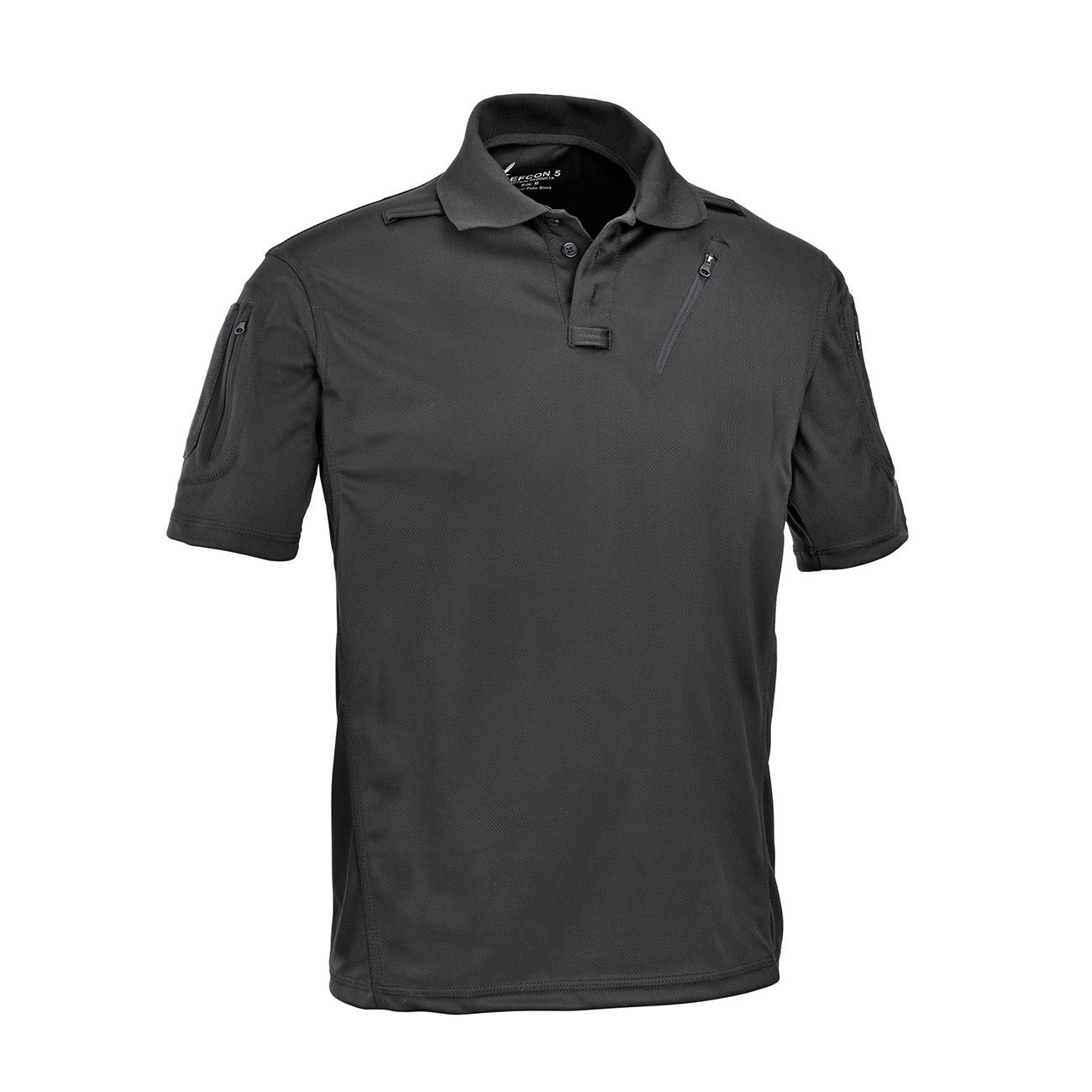 classic fit 67026 45789 Defcon 5 Polo Shirt Advanced schwarz