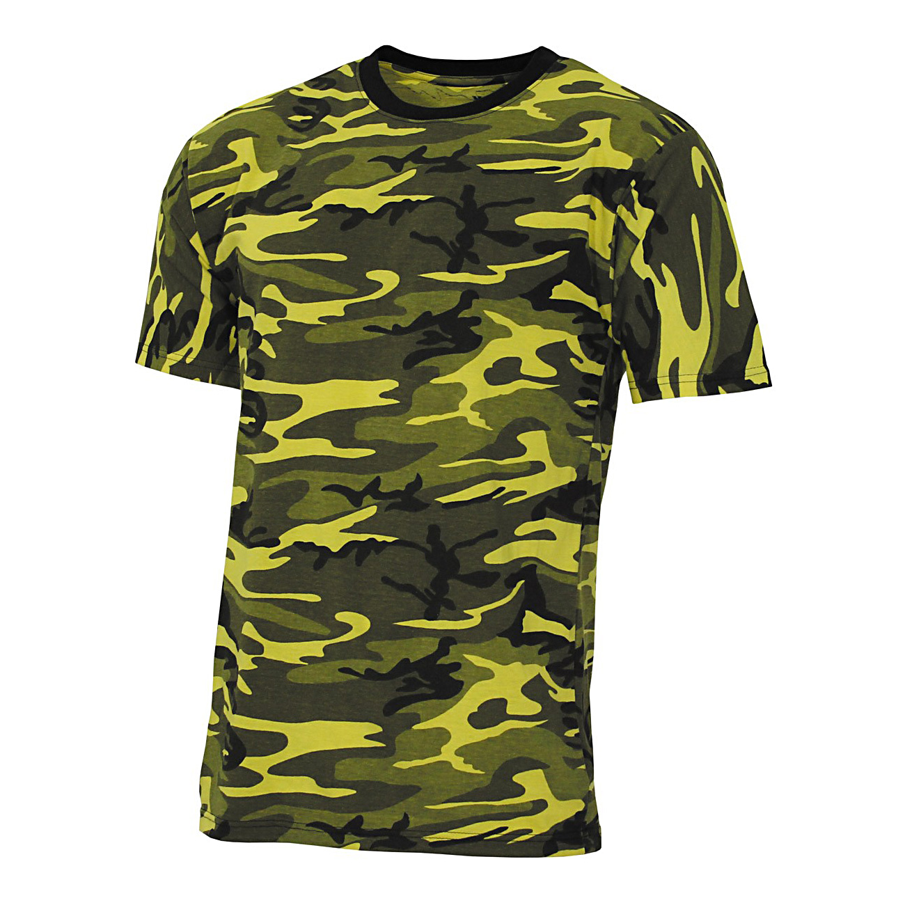 2bf4e6b357baba MFH US T-Shirt Streetstyle gelb-camo günstig kaufen - Kotte & Zeller