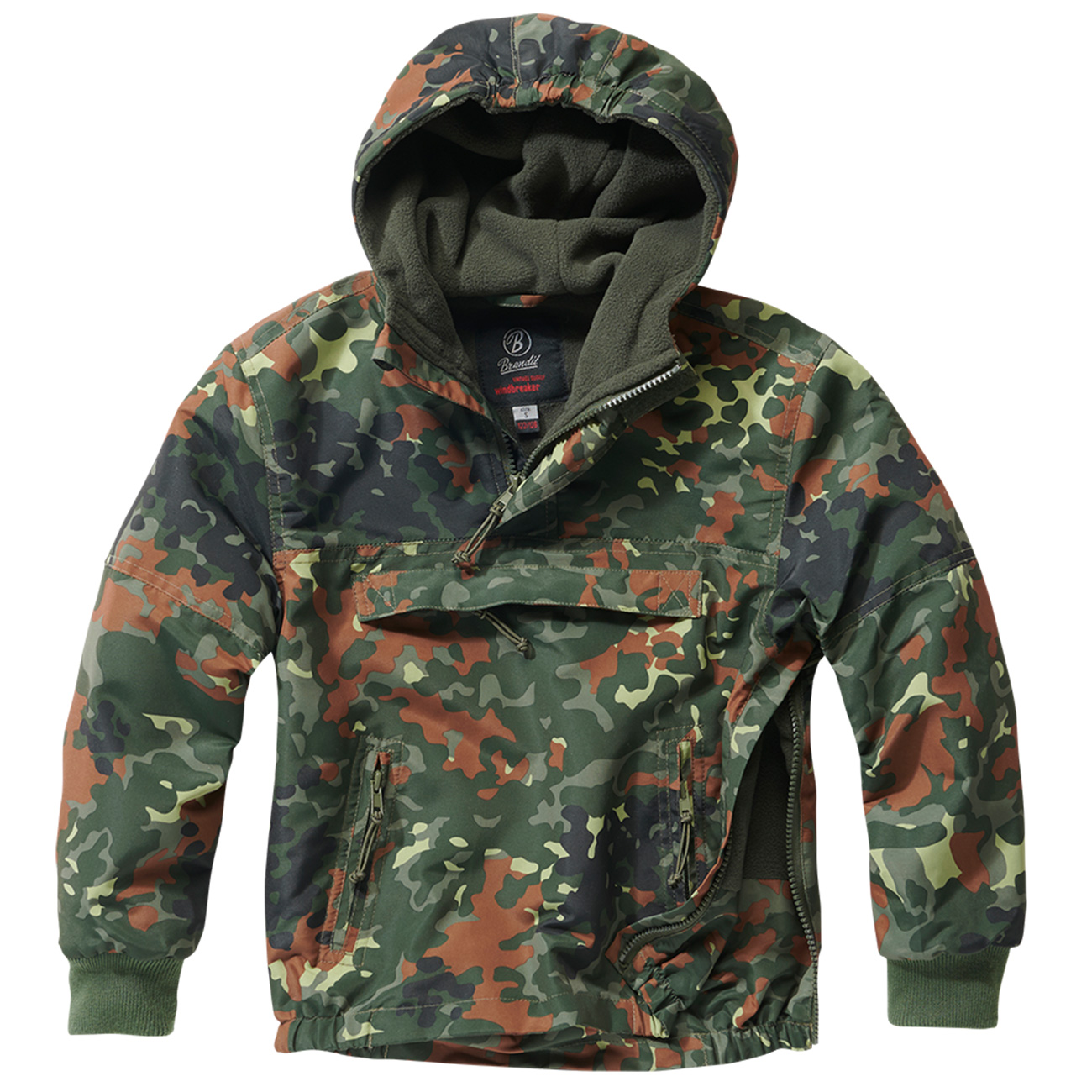 Brandit Windbreaker Kids flecktarn 0
