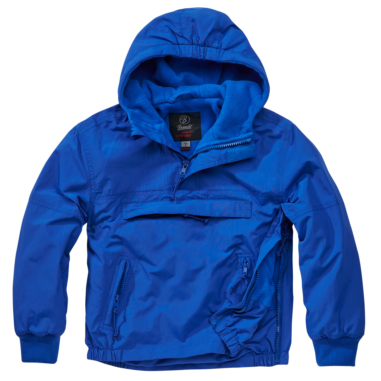 Brandit Windbreaker Kids royal blau 0