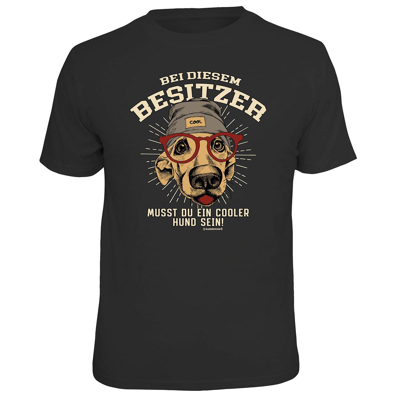 the best attitude 56054 b6ed7 Rahmenlos T-Shirt Cooler Hund