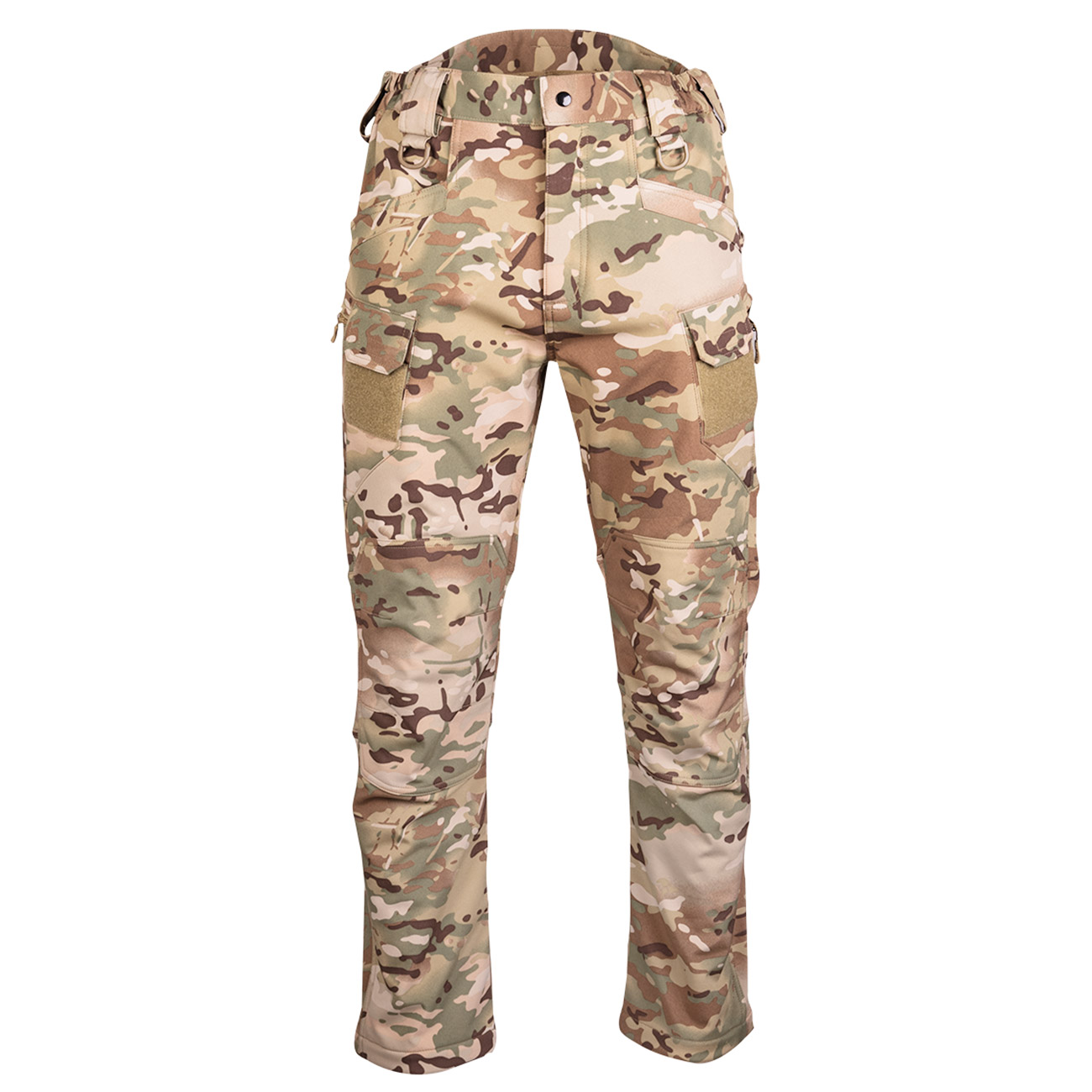 Mil-Tec Softshell Hose Assault multitarn 0
