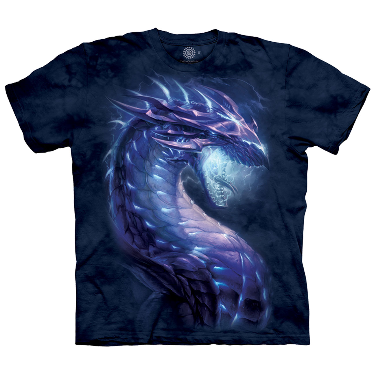 The Mountain T-Shirt Stormborn Dragon Fantasy 0