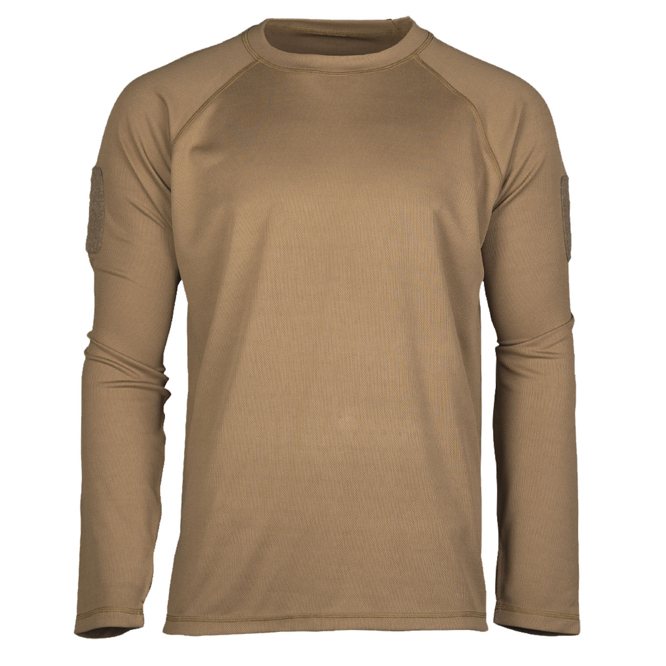 Mil-Tec Langarmshirt Tactical Quick Dry dark coyote 0
