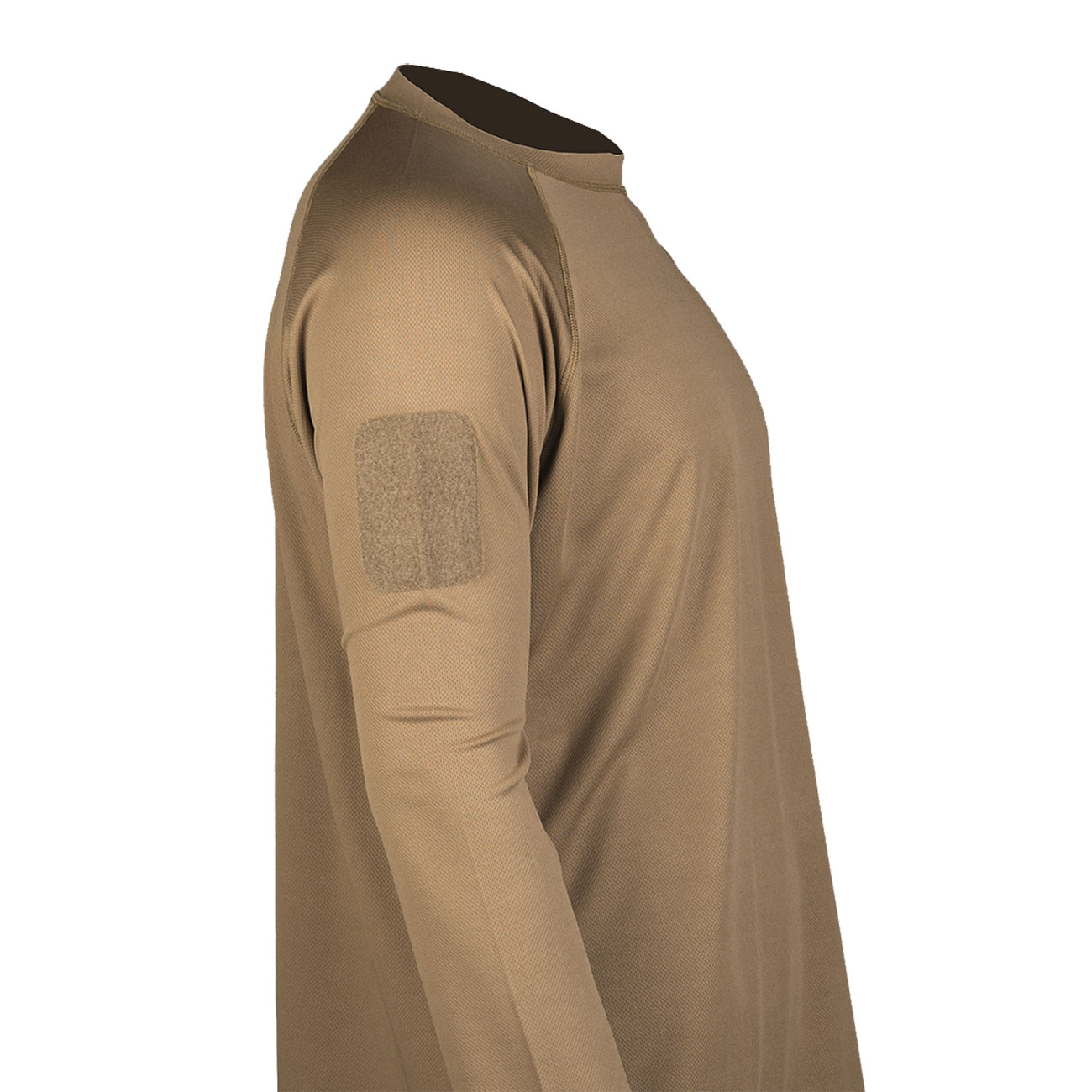 Mil-Tec Langarmshirt Tactical Quick Dry dark coyote 1