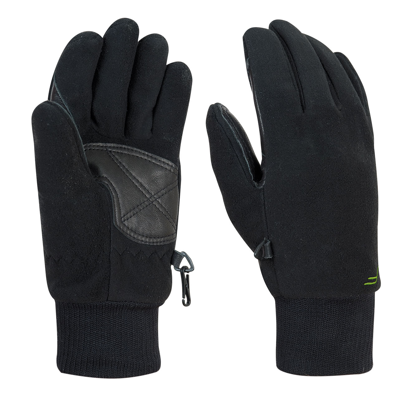 F-Lite Fleece Handschuh Waterproof schwarz 0