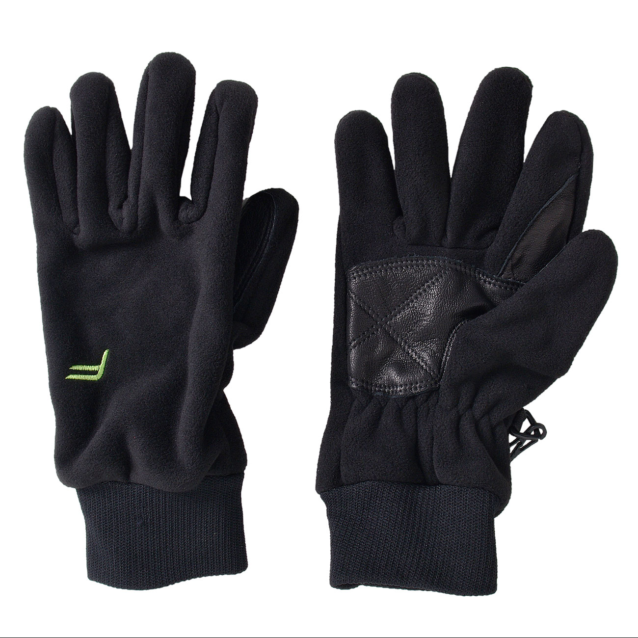 F-Lite Fleece Handschuh Waterproof schwarz 1