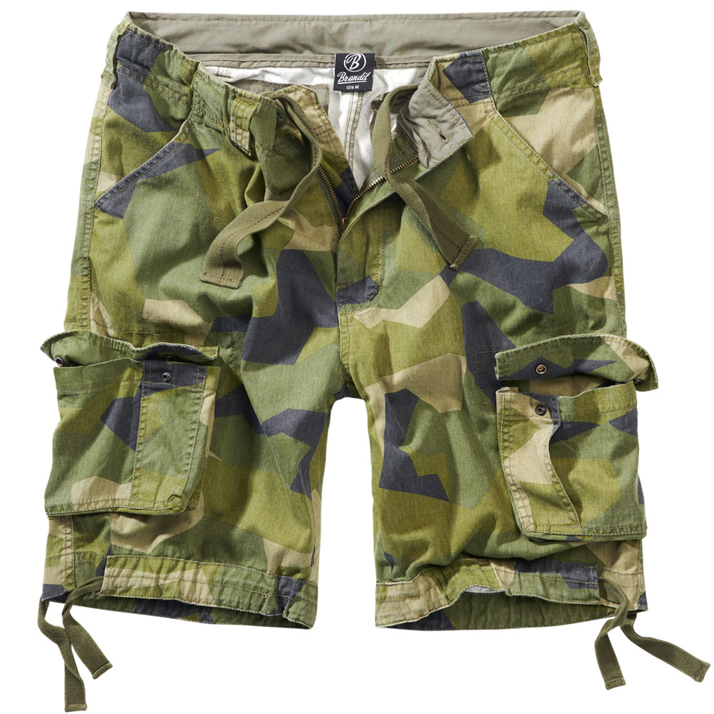 Brandit Shorts Urban Legend swedish camo M90 0