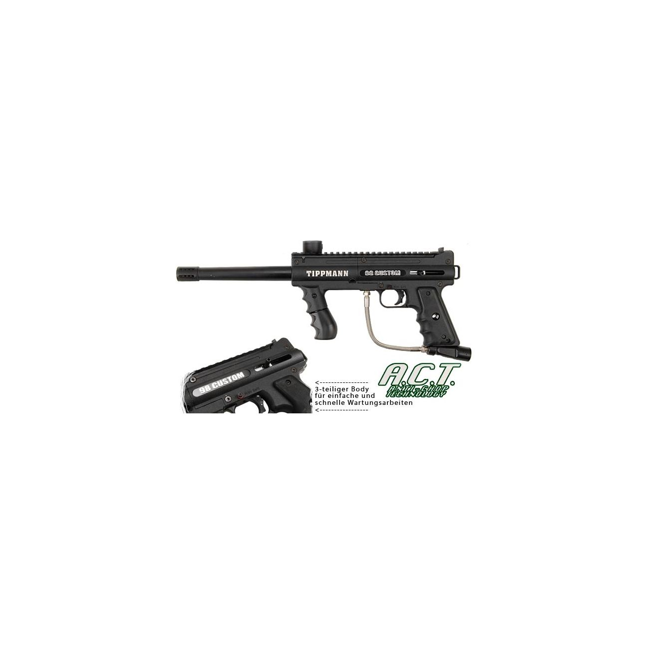 Tippmann Model 98 Custom ACT Platinum Series schwarz 0