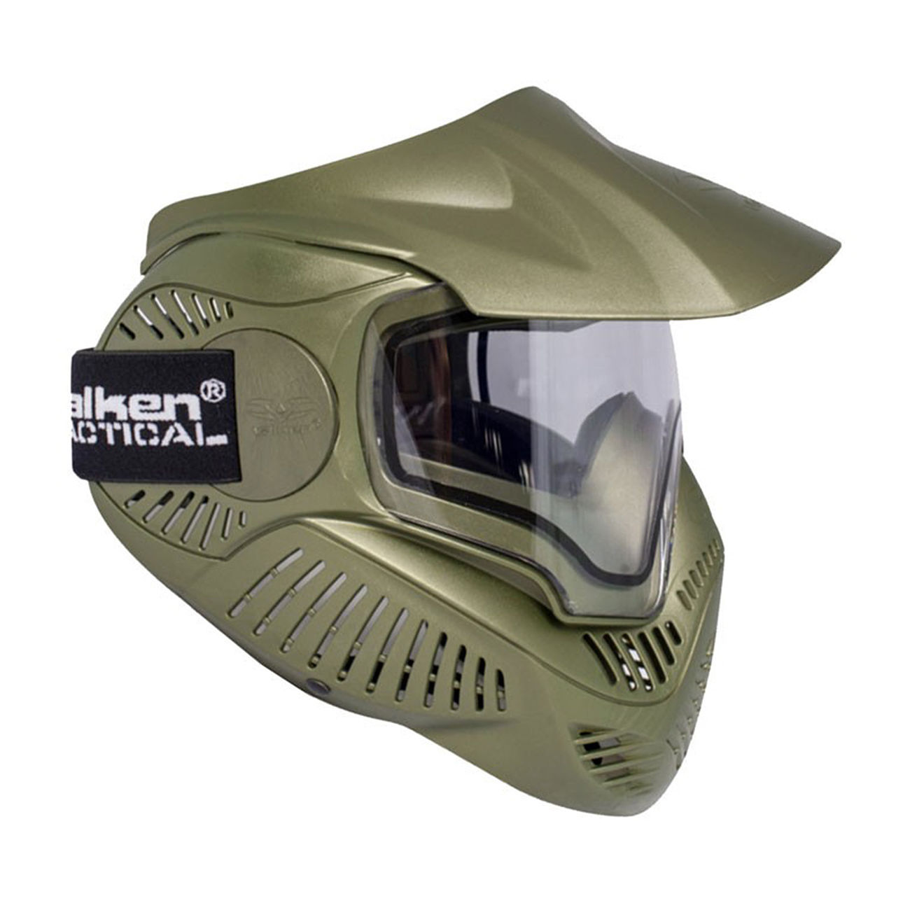 Valken Paintball Schutzmaske Annex MI-7 Thermal oliv 0