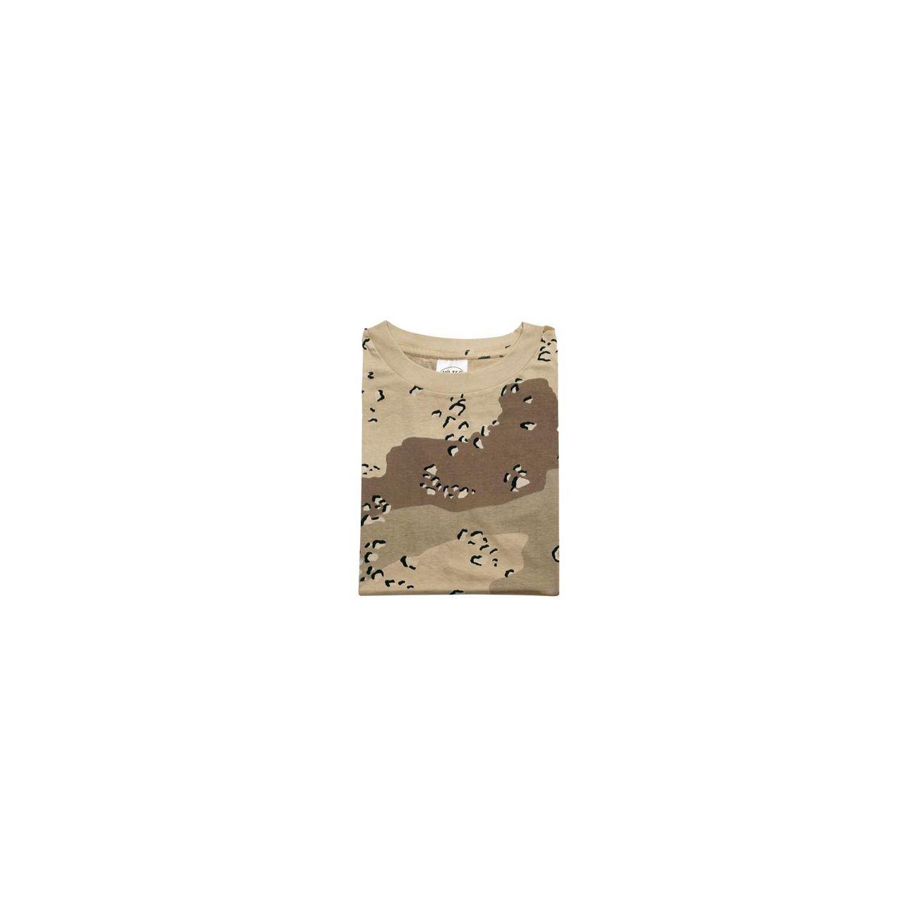16f71603fa1f35 MFH T-Shirt halbarm 6-color-desert günstig kaufen - Kotte & Zeller