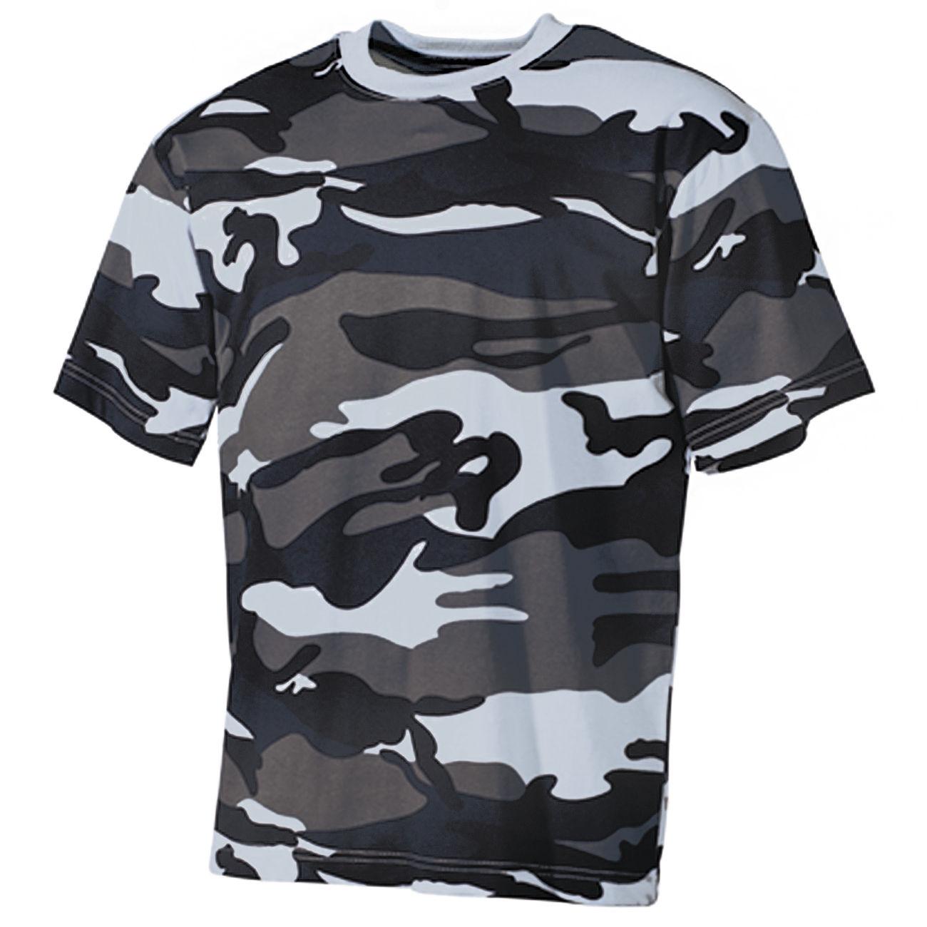 a2dcb9f96bbe50 MFH T-Shirt halbarm sky blue camo günstig kaufen - Kotte & Zeller