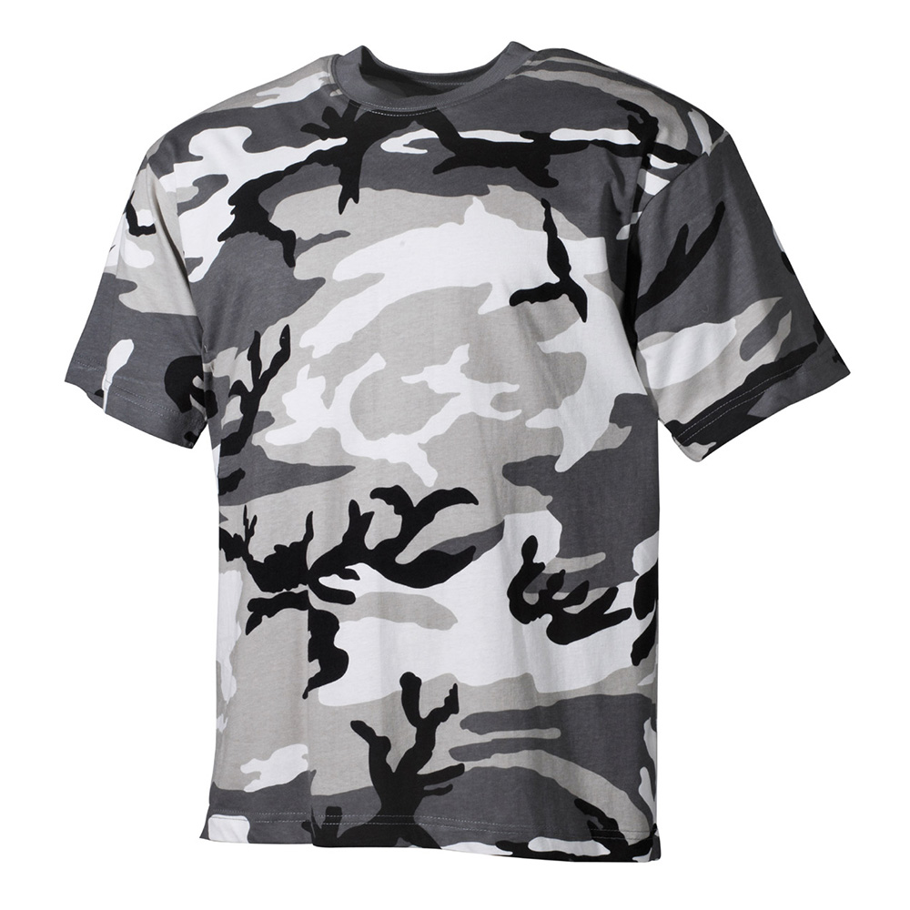 MFH T-Shirt halbarm urban city camo 0