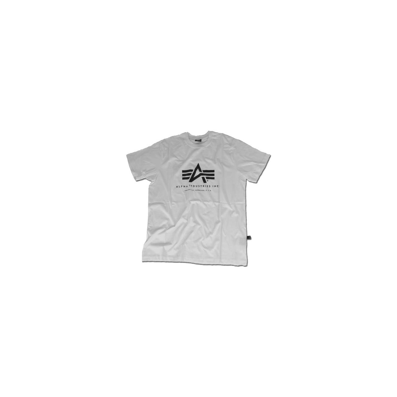 Alpha Basic T-Shirt, grau 0