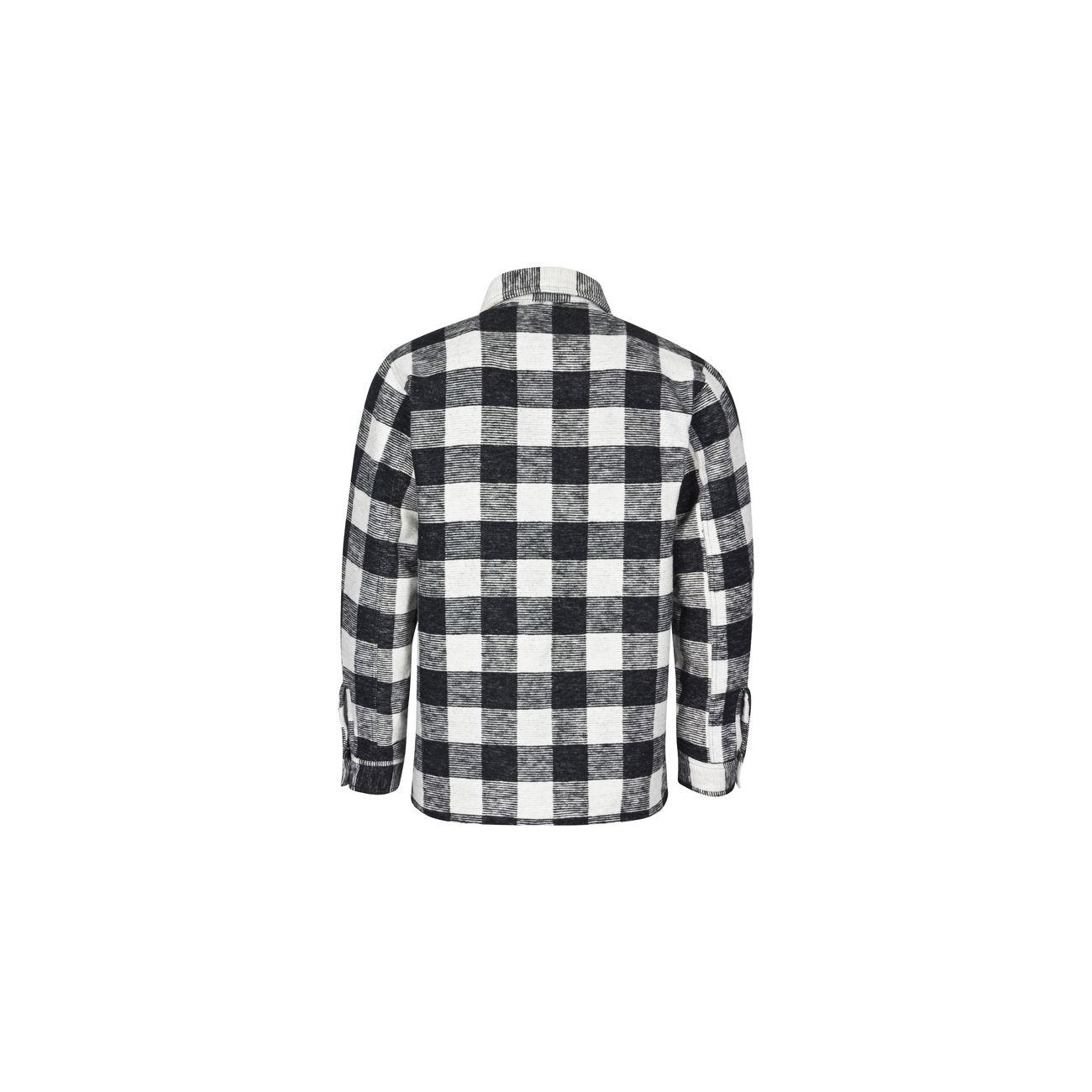 Holzfällerhemd Schwarz Weiß