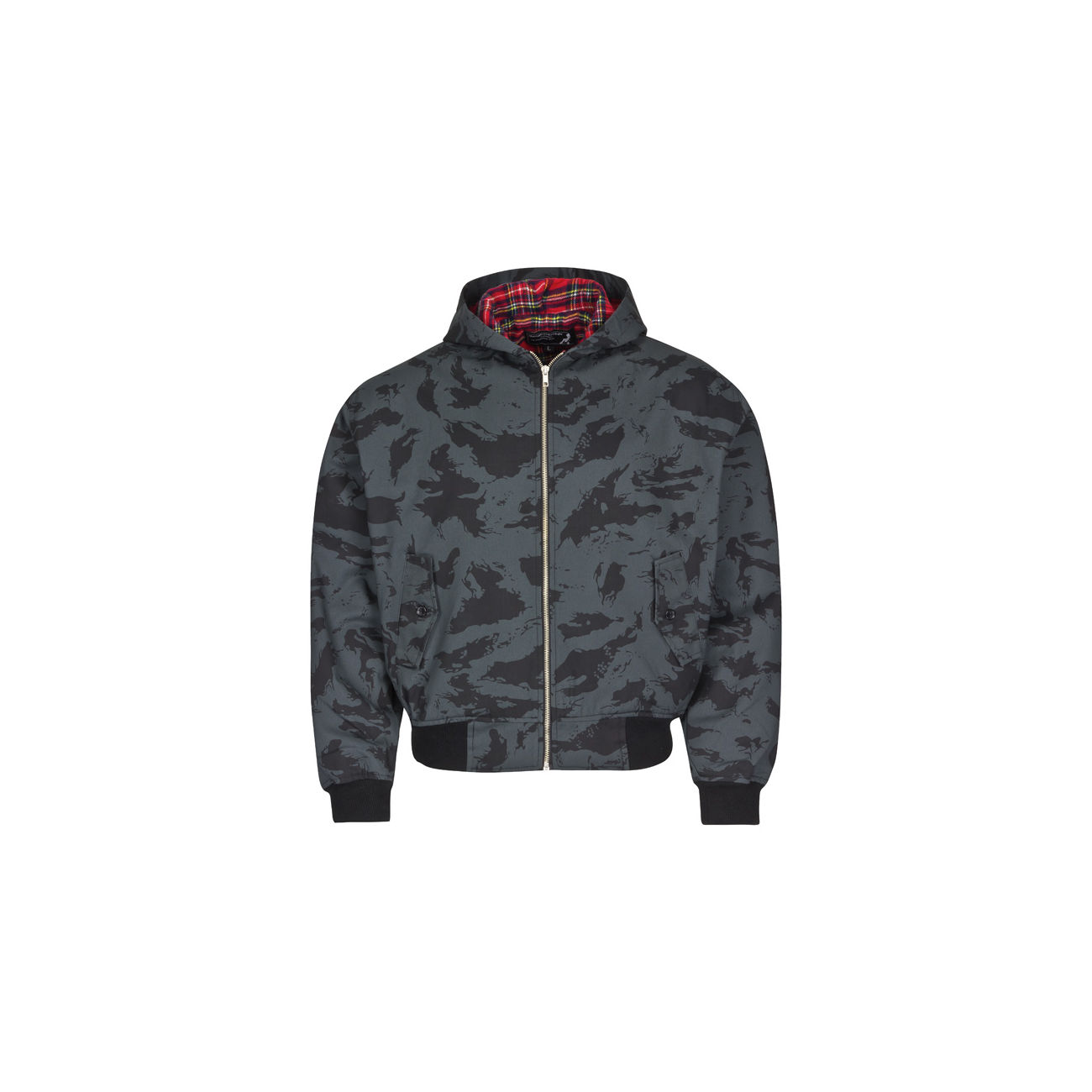 Harrington Jacke, russian-night-camo mit Kapuze 0