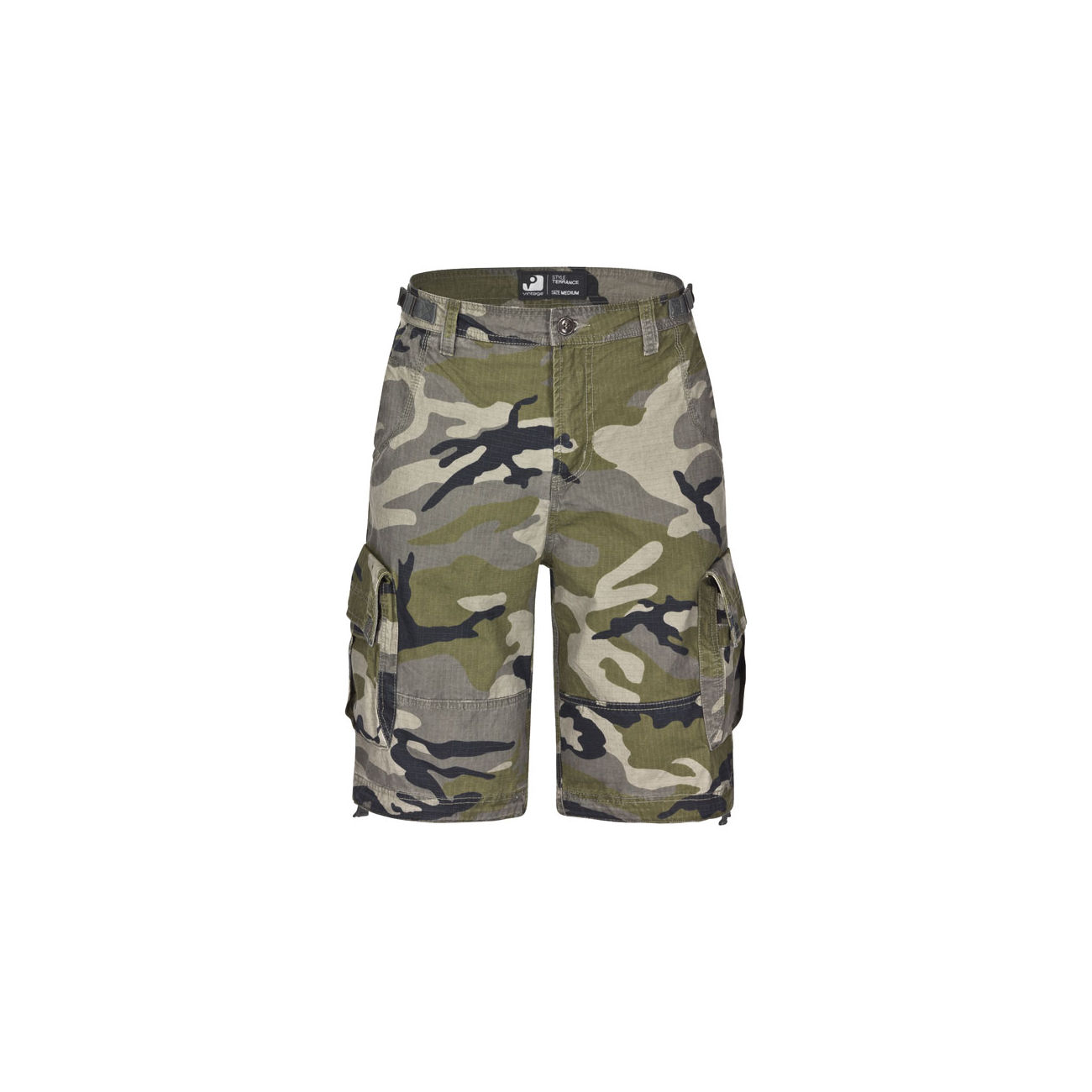 Vintage Industries Shorts Terrance streetcamo 0