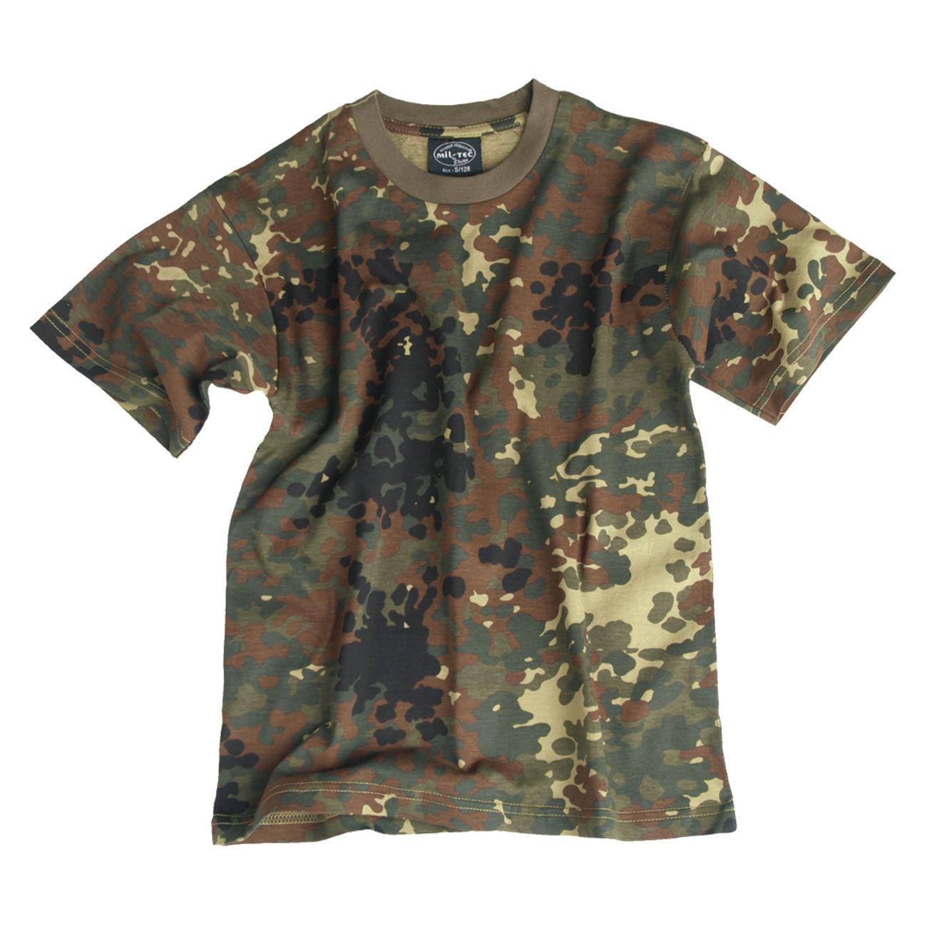 f8b59ec1b2 Kinder T-Shirt Tarnfarbe flecktarn günstig kaufen - Kotte & Zeller