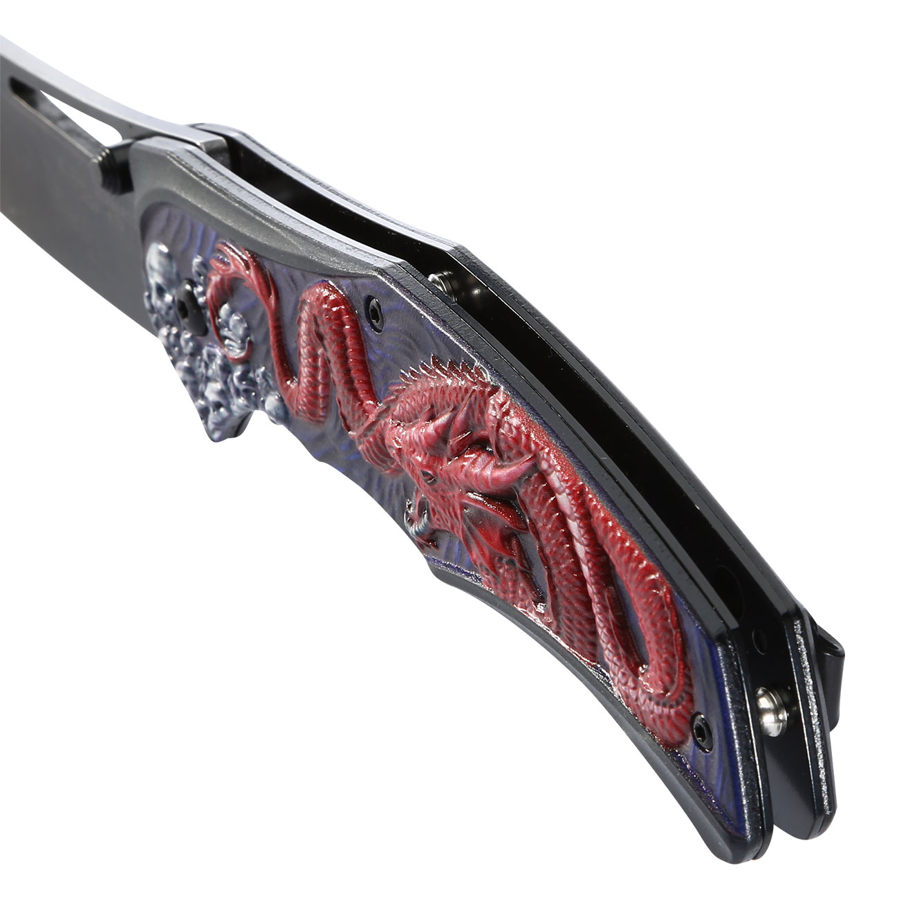 Herbertz Einhandmesser Red Dragon 6