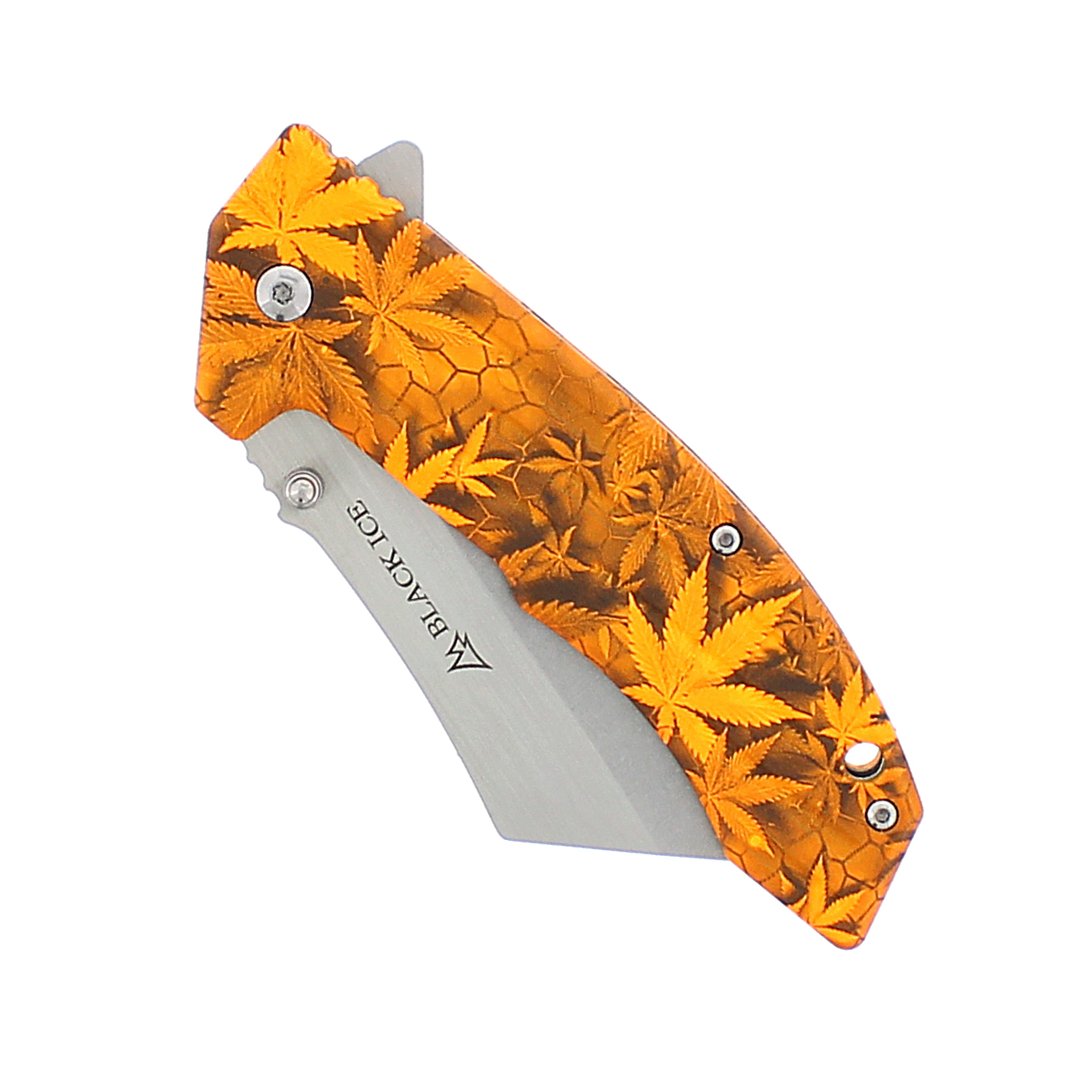Black Ice Einhandmesser THC orange 4