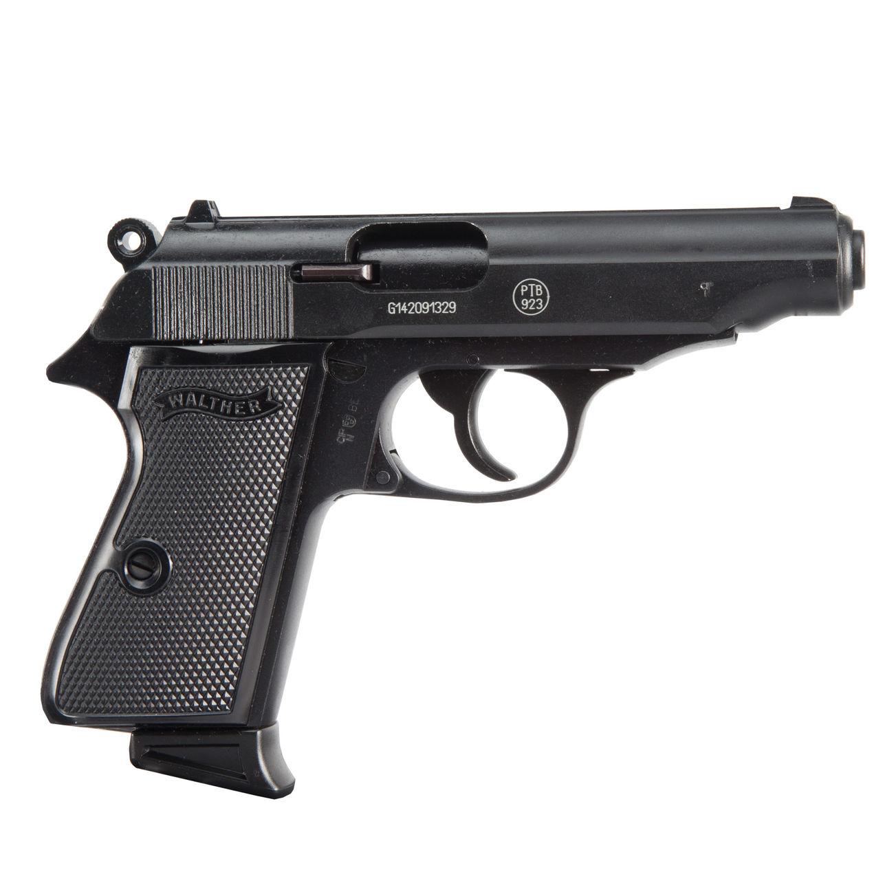 walther pp schreckschuss pistole 9mm p a k schwarz kotte zeller
