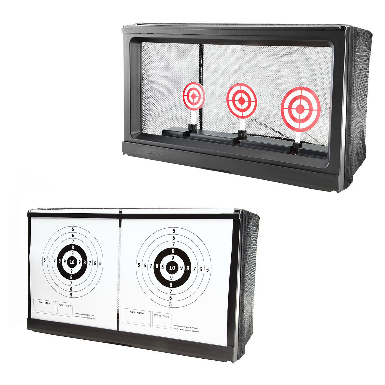 Wellfire Shooting Target Kugelfang 2in1 für Softair 0