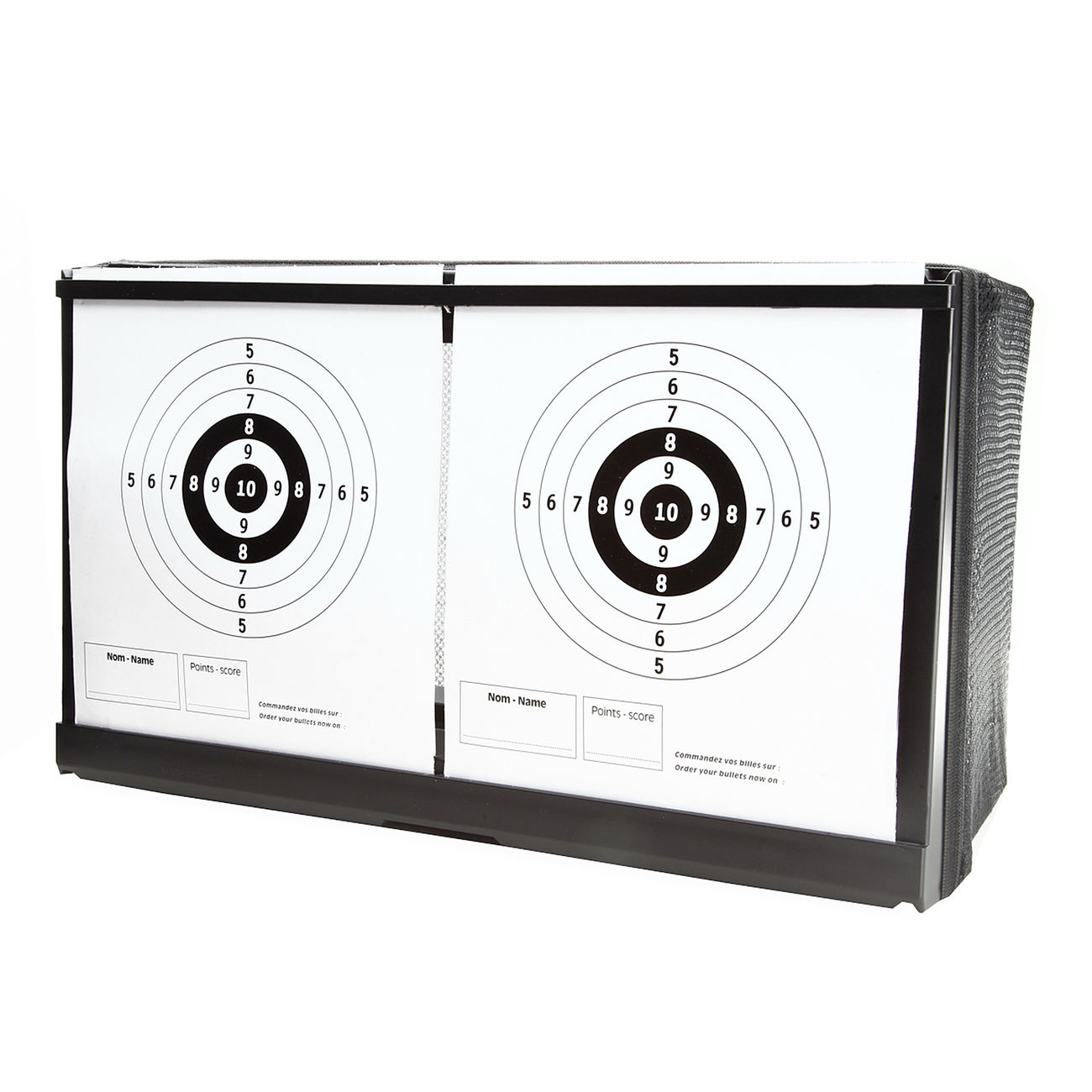Wellfire Shooting Target Kugelfang 2in1 für Softair 2