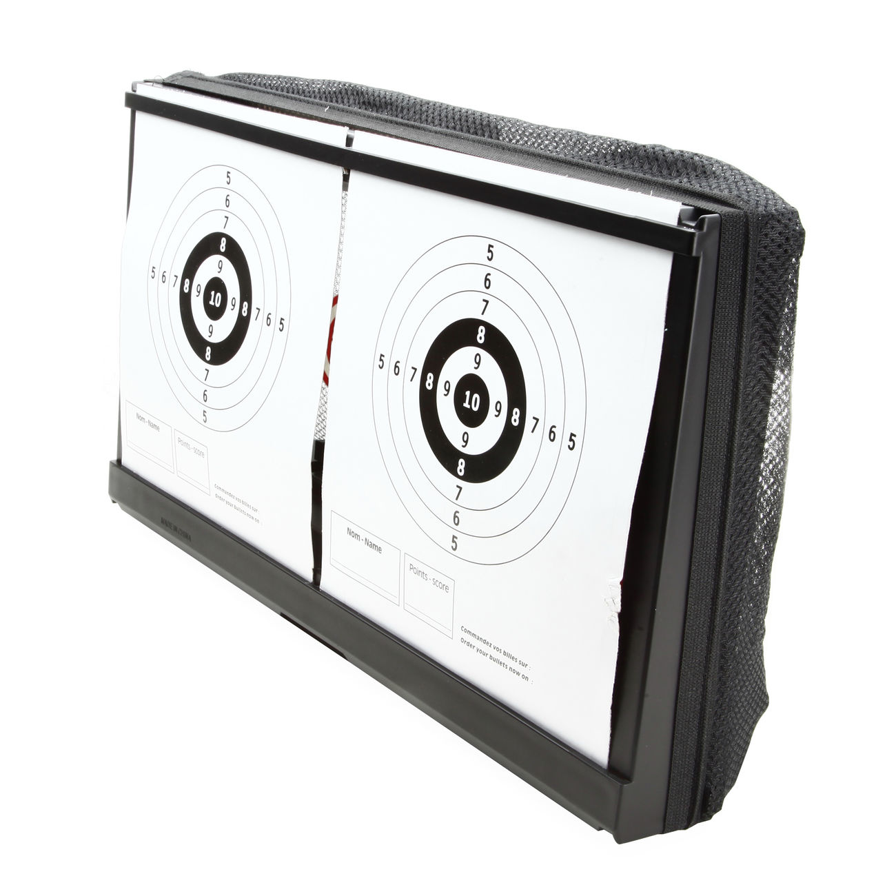 Wellfire Shooting Target Kugelfang 2in1 für Softair 3