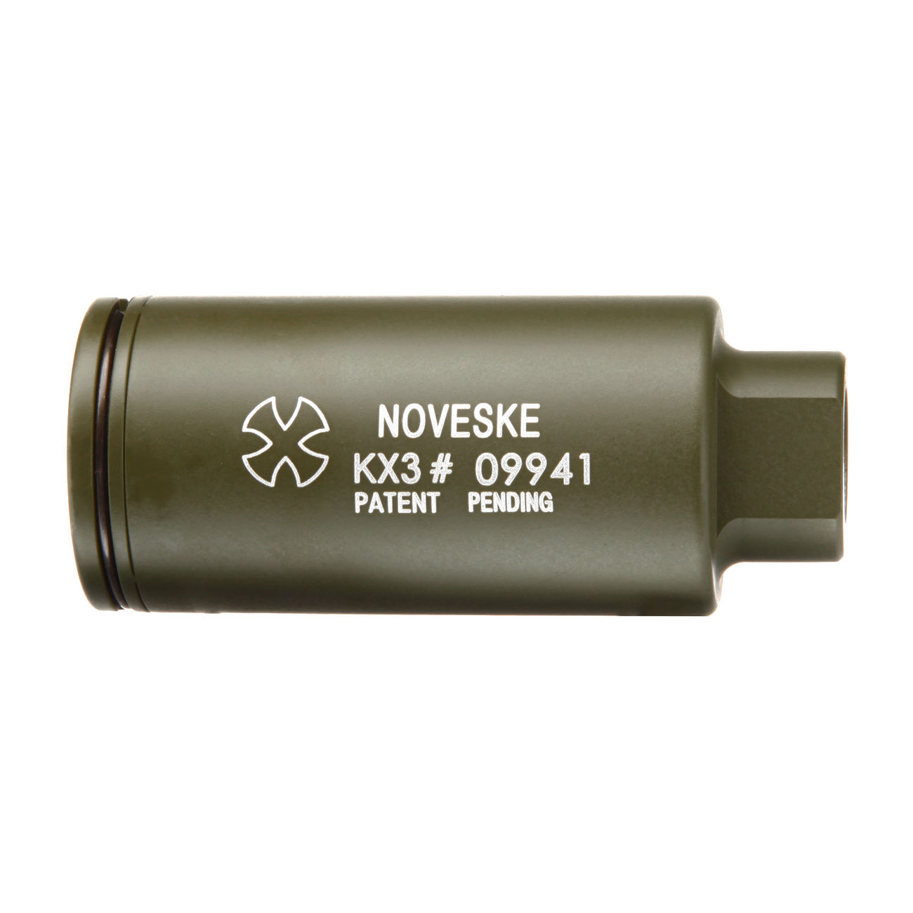 MadBull / Noveske KX3 Aluminium Amplifier Flash-Hider oliv 14mm- 2