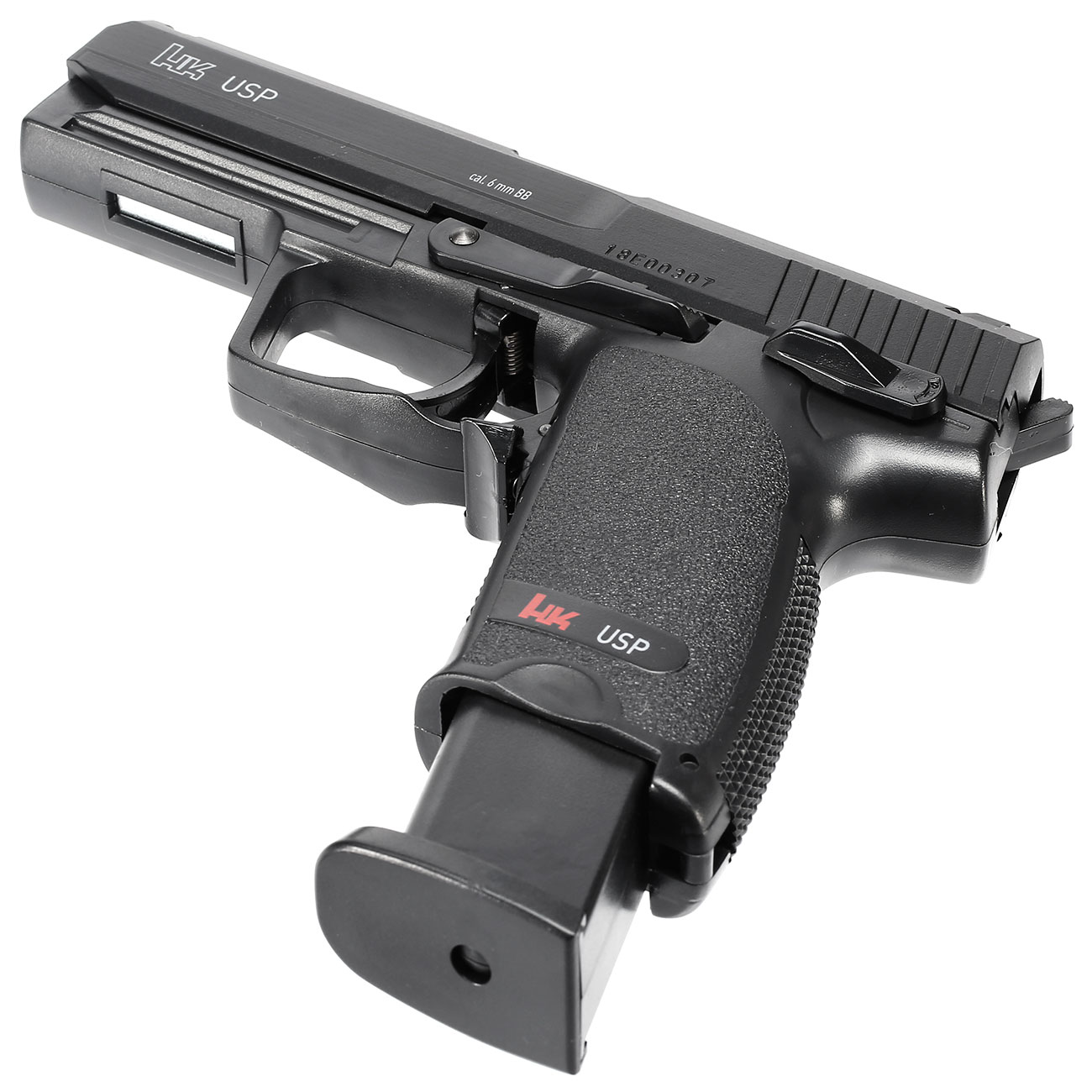 H&K USP .45 Springer 6mm BB Federdruck Softair 5
