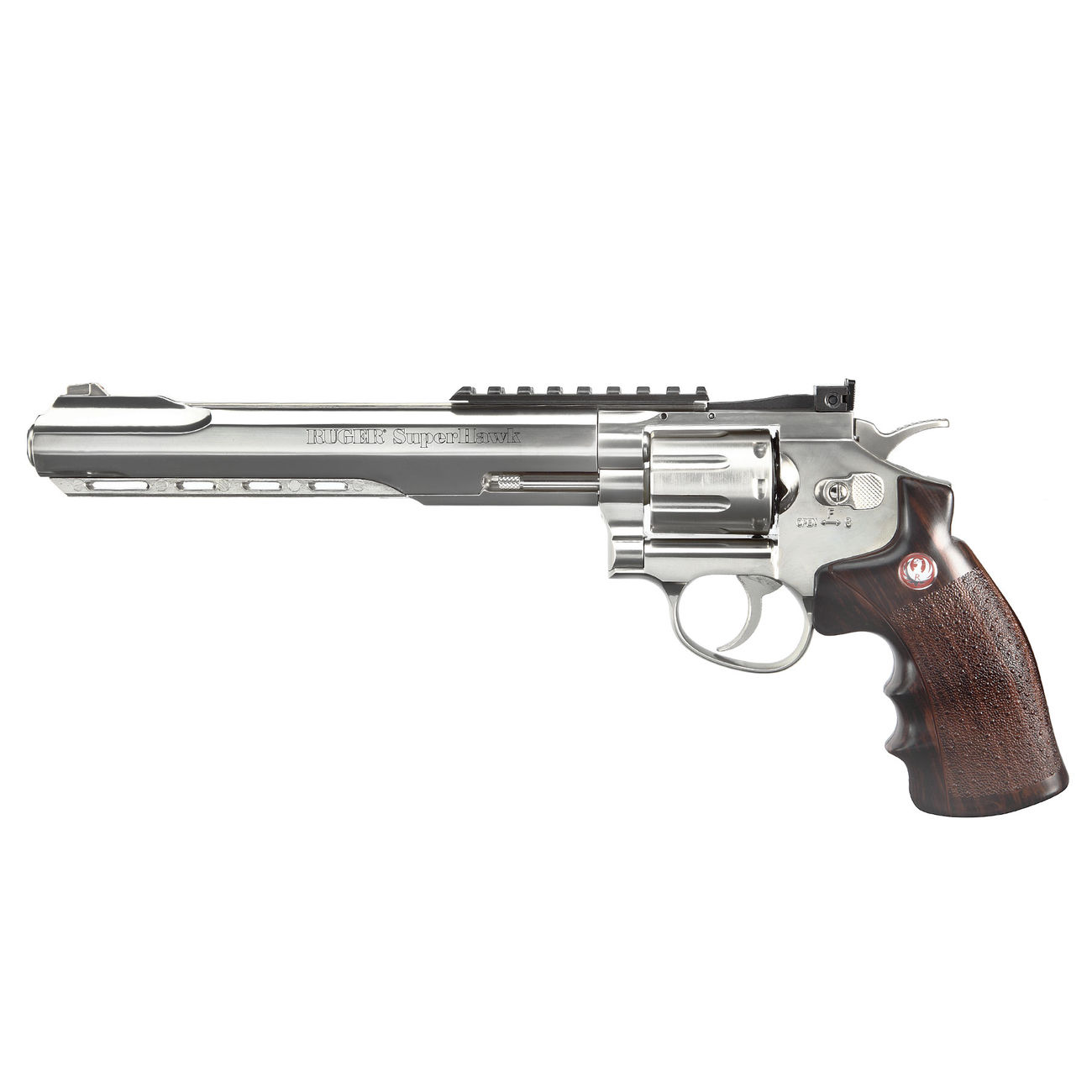 Ruger Super Hawk 8 Zoll 6mm BB CO2 Revolver chrom 1