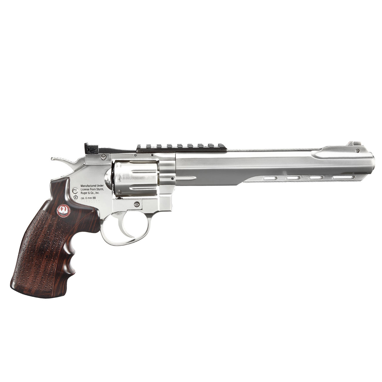 Ruger Super Hawk 8 Zoll 6mm BB CO2 Revolver chrom 2