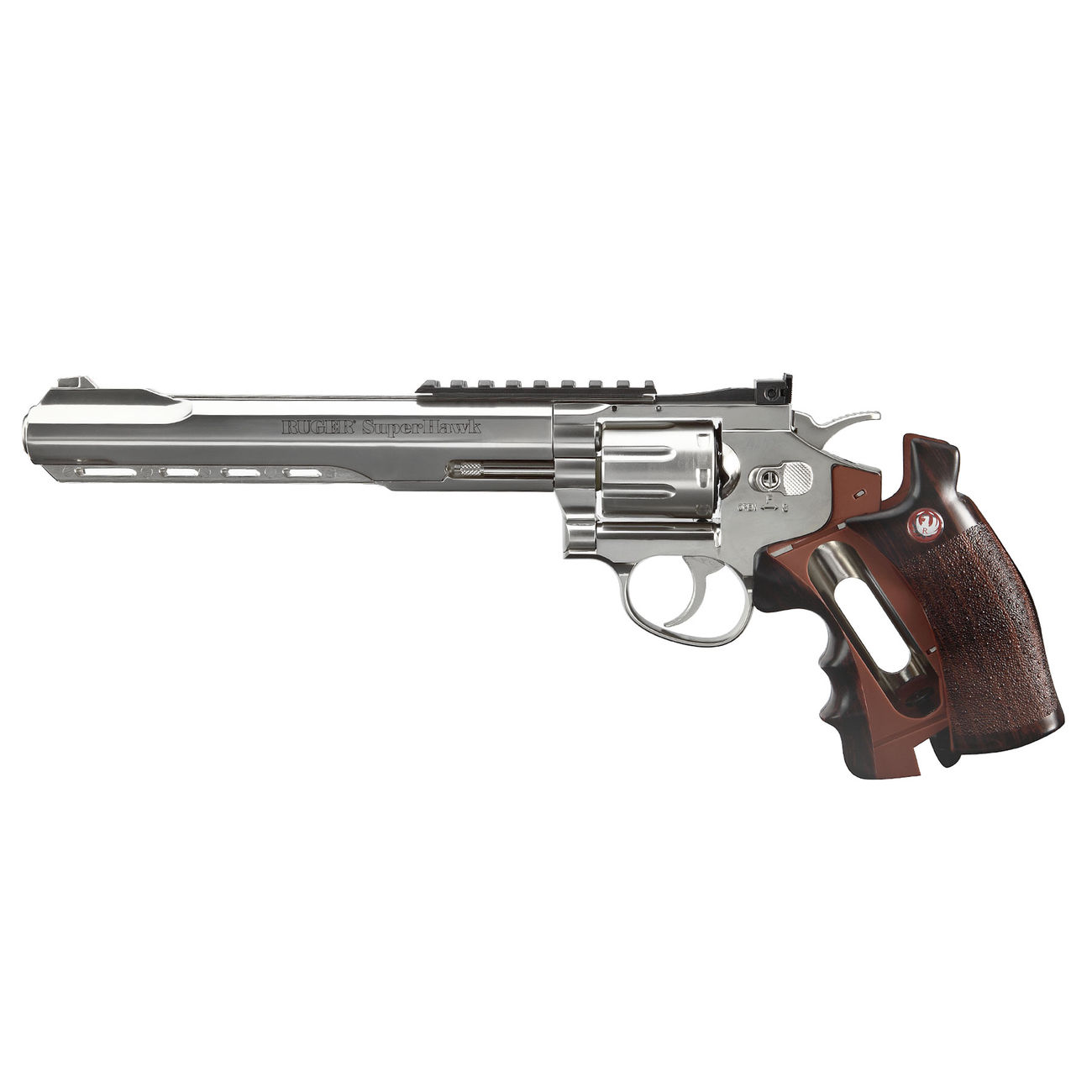 Ruger Super Hawk 8 Zoll 6mm BB CO2 Revolver chrom 4