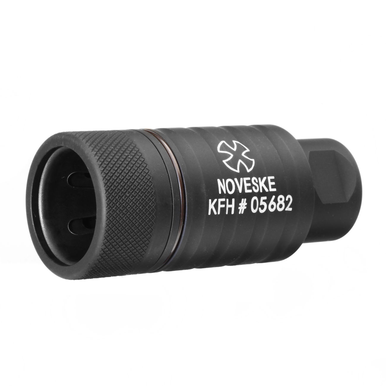 MadBull / Noveske KFH Aluminium Amplifier Flash-Hider schwarz 14mm+ 0