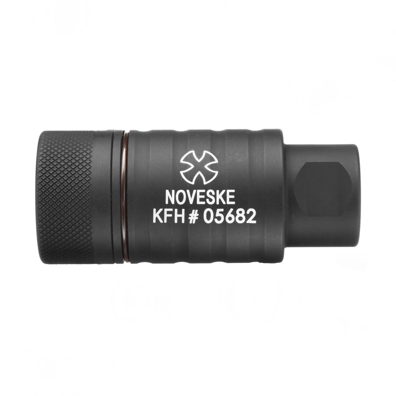 MadBull / Noveske KFH Aluminium Amplifier Flash-Hider schwarz 14mm+ 2