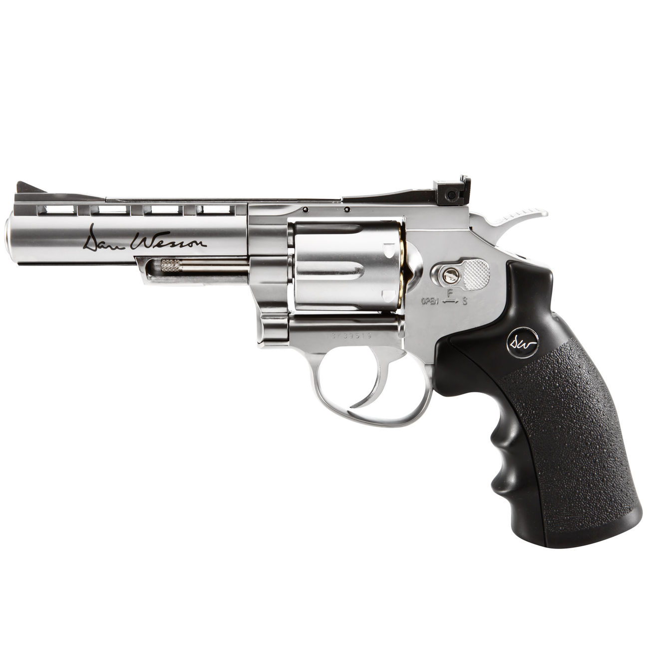 ASG Dan Wesson 4 Zoll 6mm BB CO2 Softair Revolver chrom 0