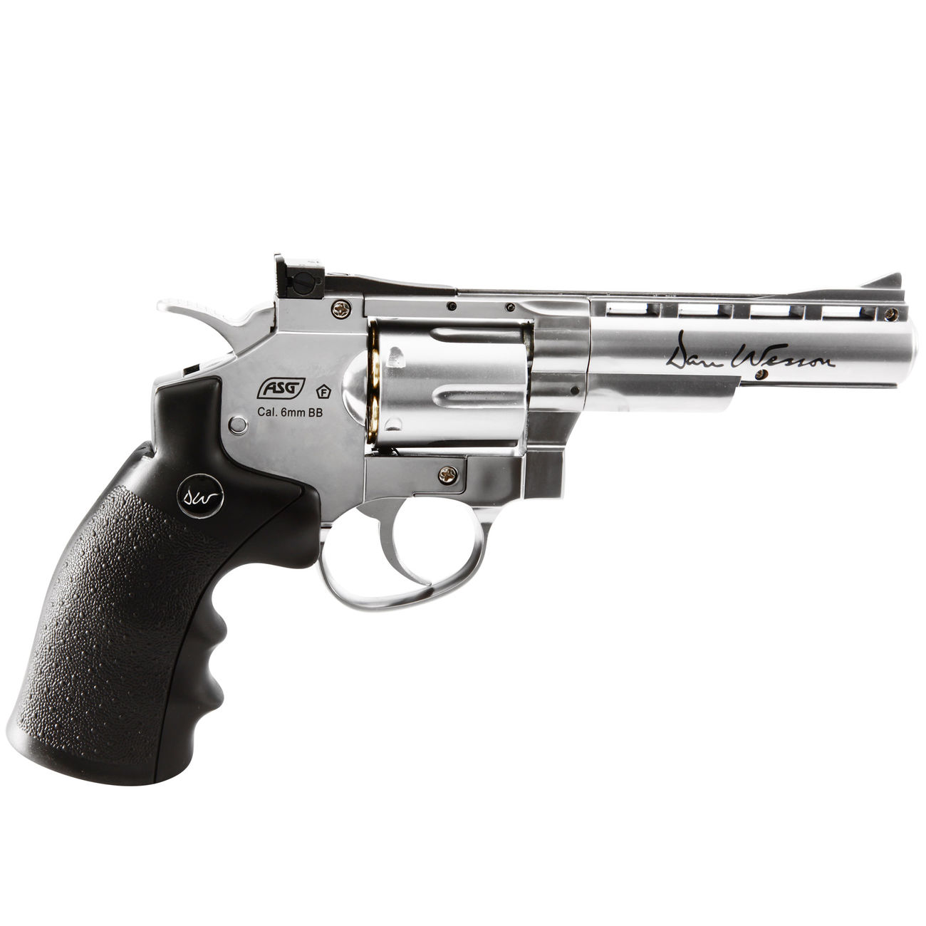 ASG Dan Wesson 4 Zoll 6mm BB CO2 Softair Revolver chrom 1
