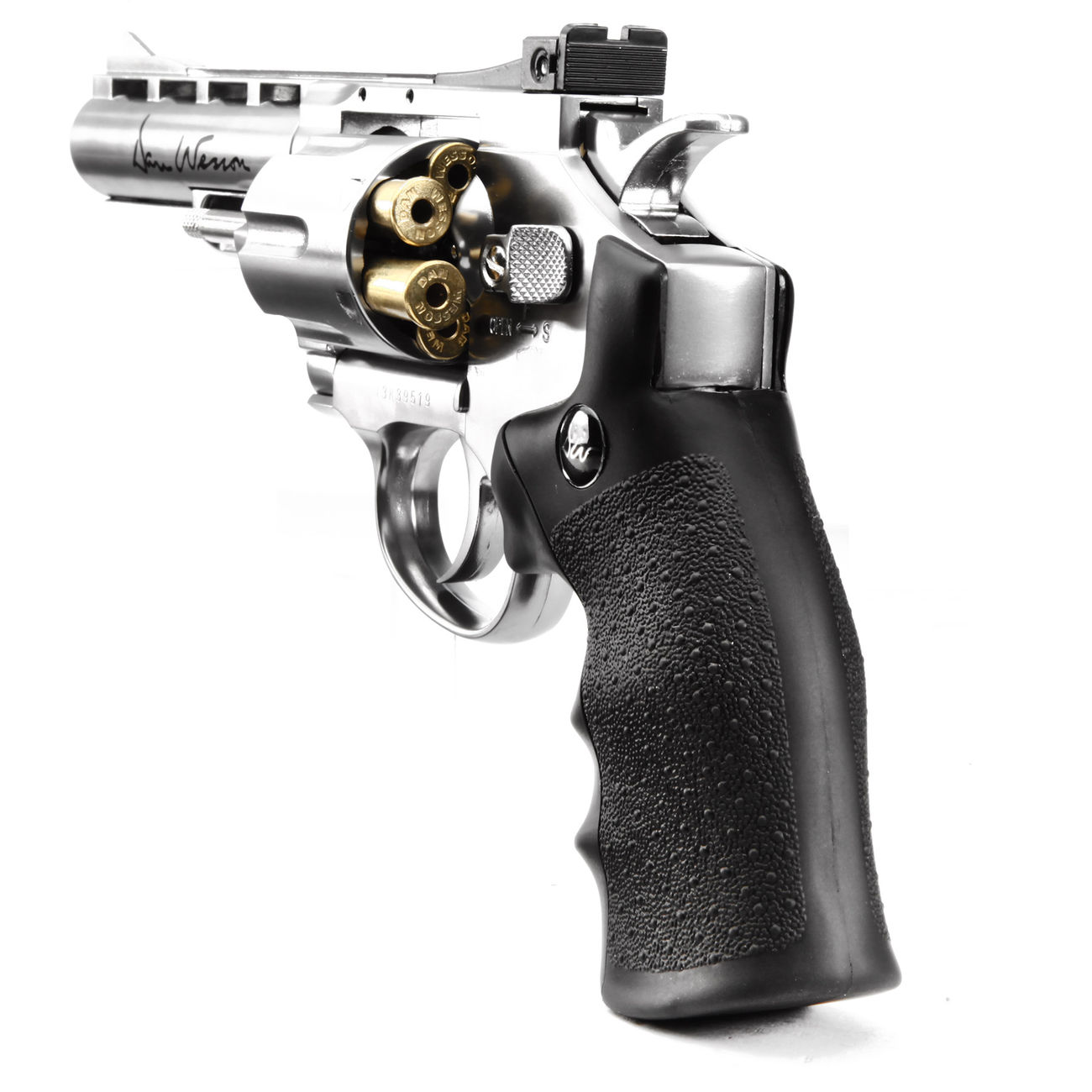 ASG Dan Wesson 4 Zoll 6mm BB CO2 Softair Revolver chrom 3