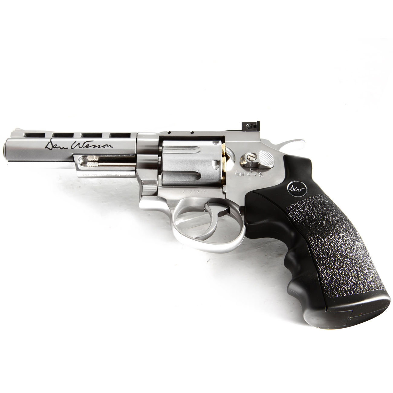 ASG Dan Wesson 4 Zoll 6mm BB CO2 Softair Revolver chrom 4