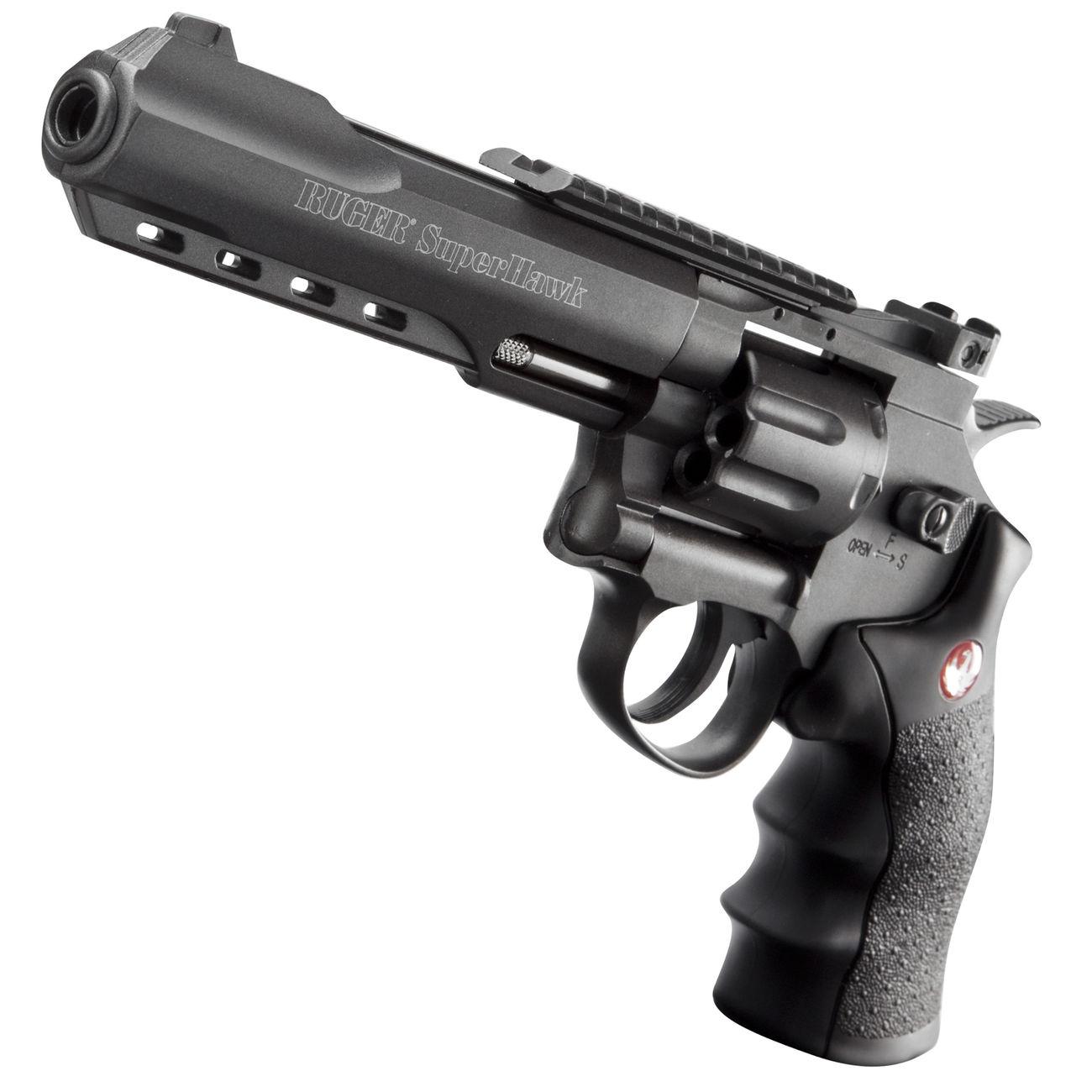 ruger super hawk 6 zoll 6mm bb co2 revolver schwarz g nstig kaufen kotte zeller. Black Bedroom Furniture Sets. Home Design Ideas