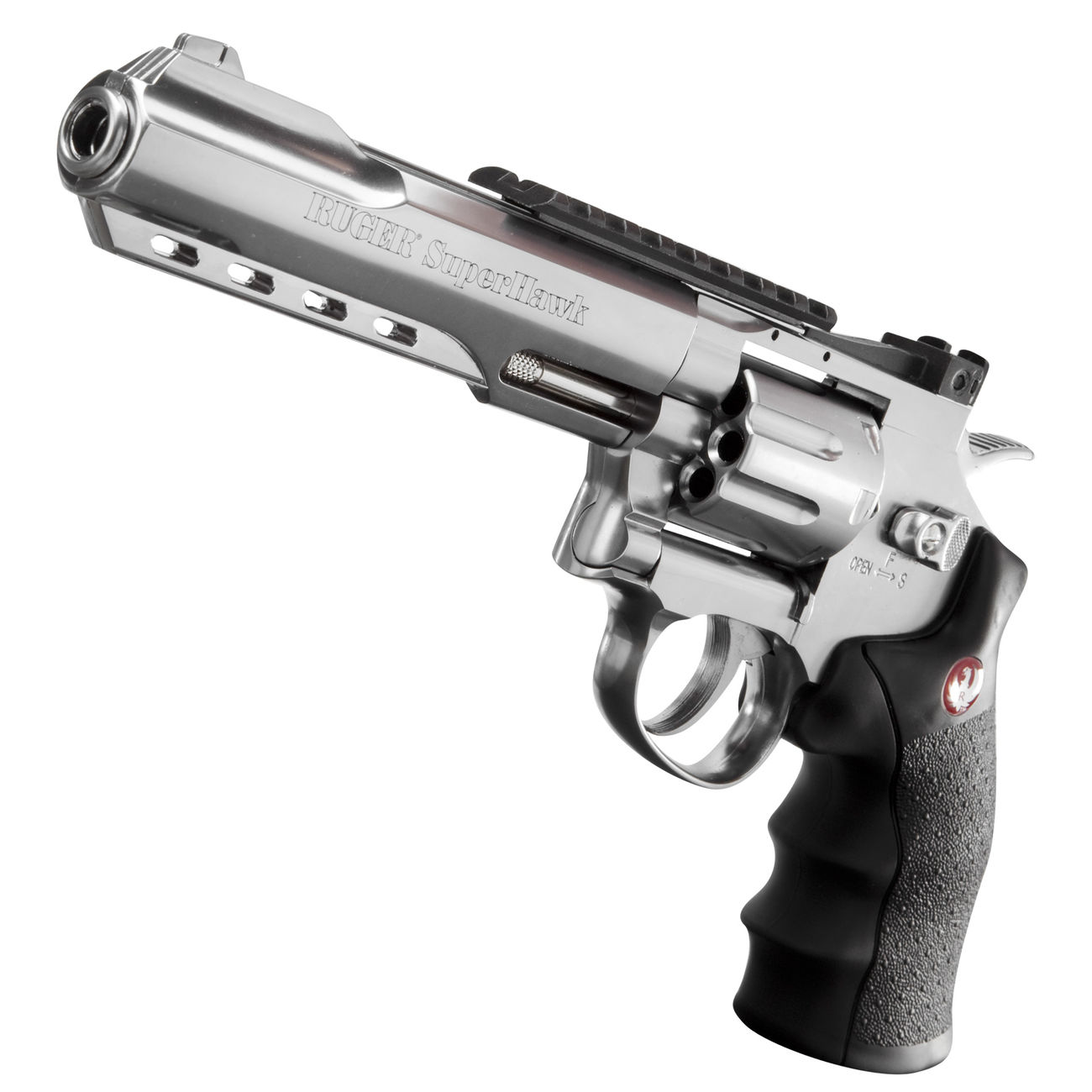 Ruger Super Hawk 6 Zoll 6mm BB CO2 Revolver chrom 1