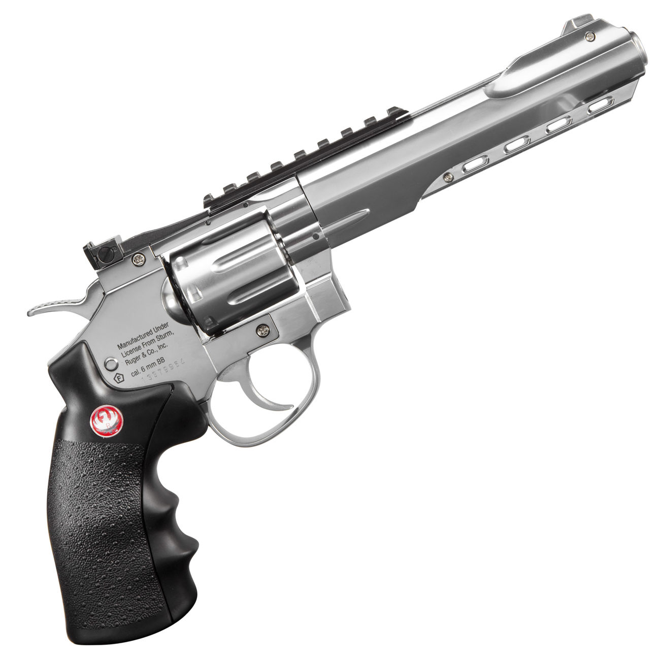 Ruger Super Hawk 6 Zoll 6mm BB CO2 Revolver chrom 2